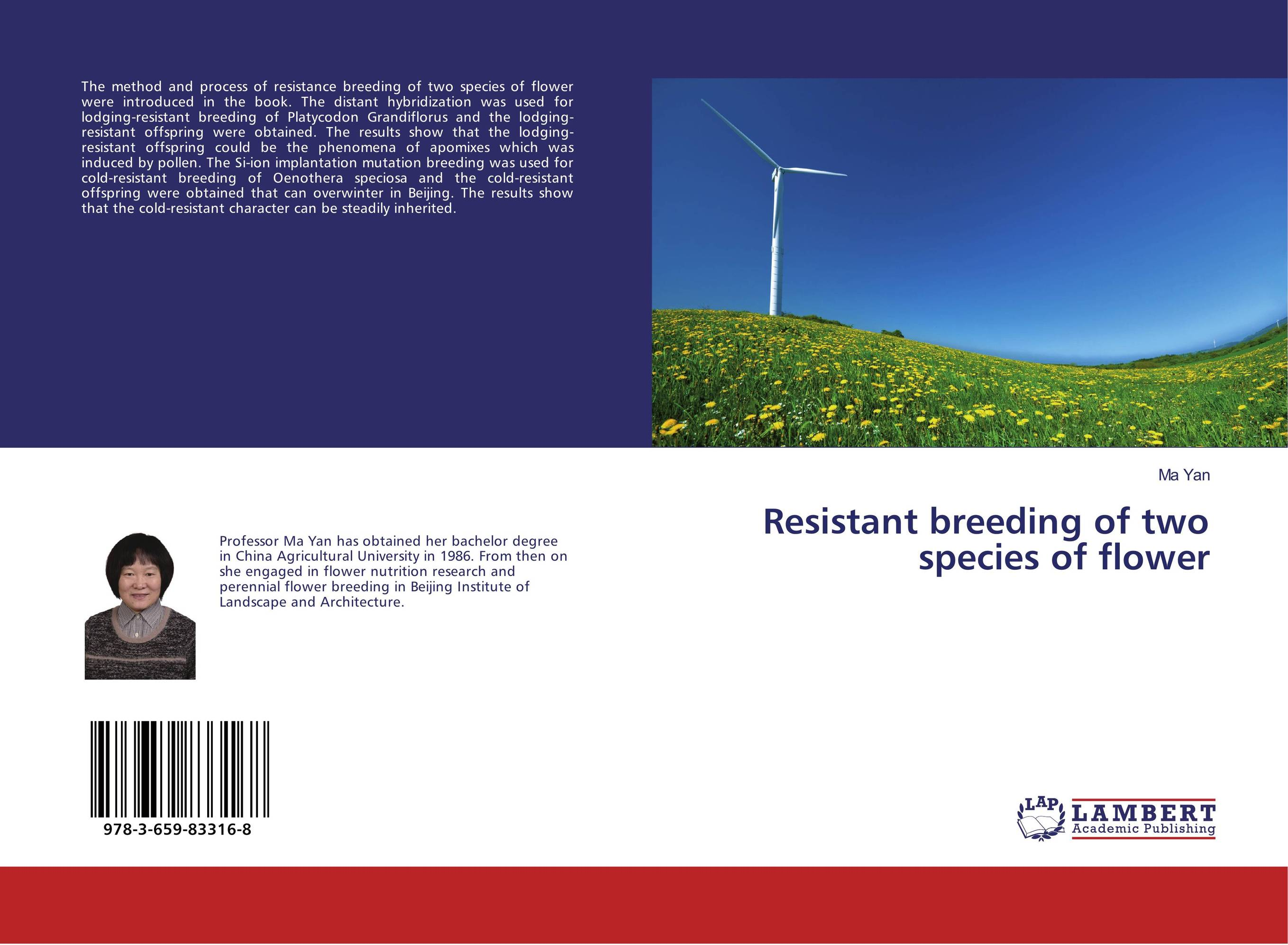 Resistant breeding of two species of flower bottlegourd breeding