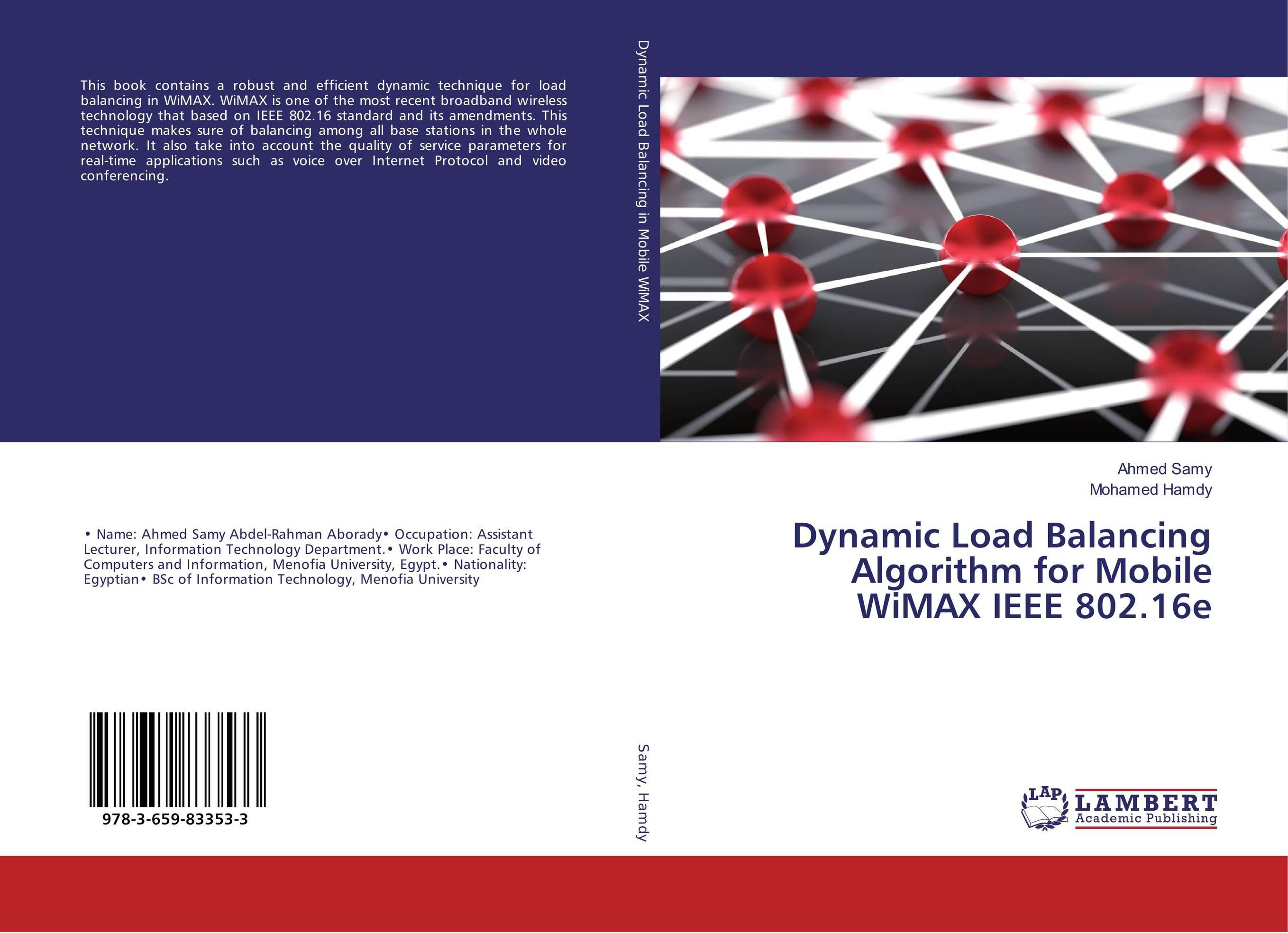 Dynamic Load Balancing Algorithm for Mobile WiMAX IEEE 802.16e optimal pll loop filter design for mobile wimax via lmi