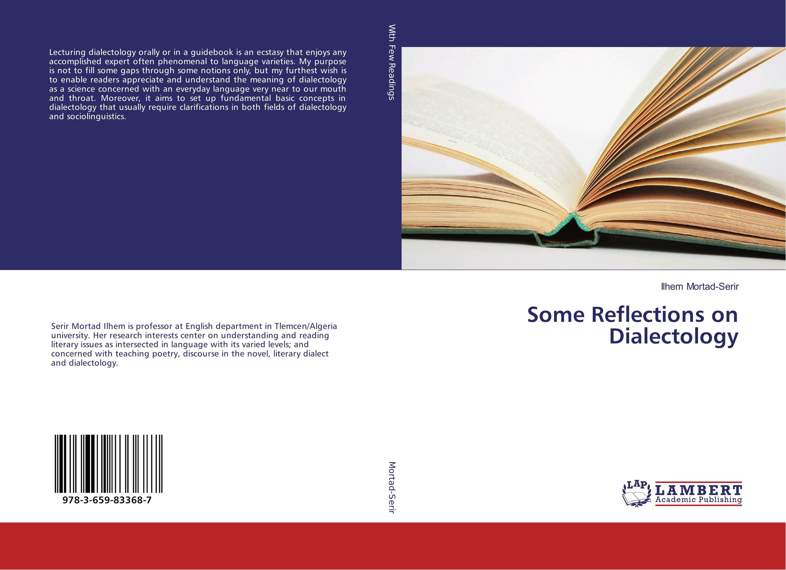 Some Reflections on Dialectology myriad mirrors reflections on north east indian literature in english