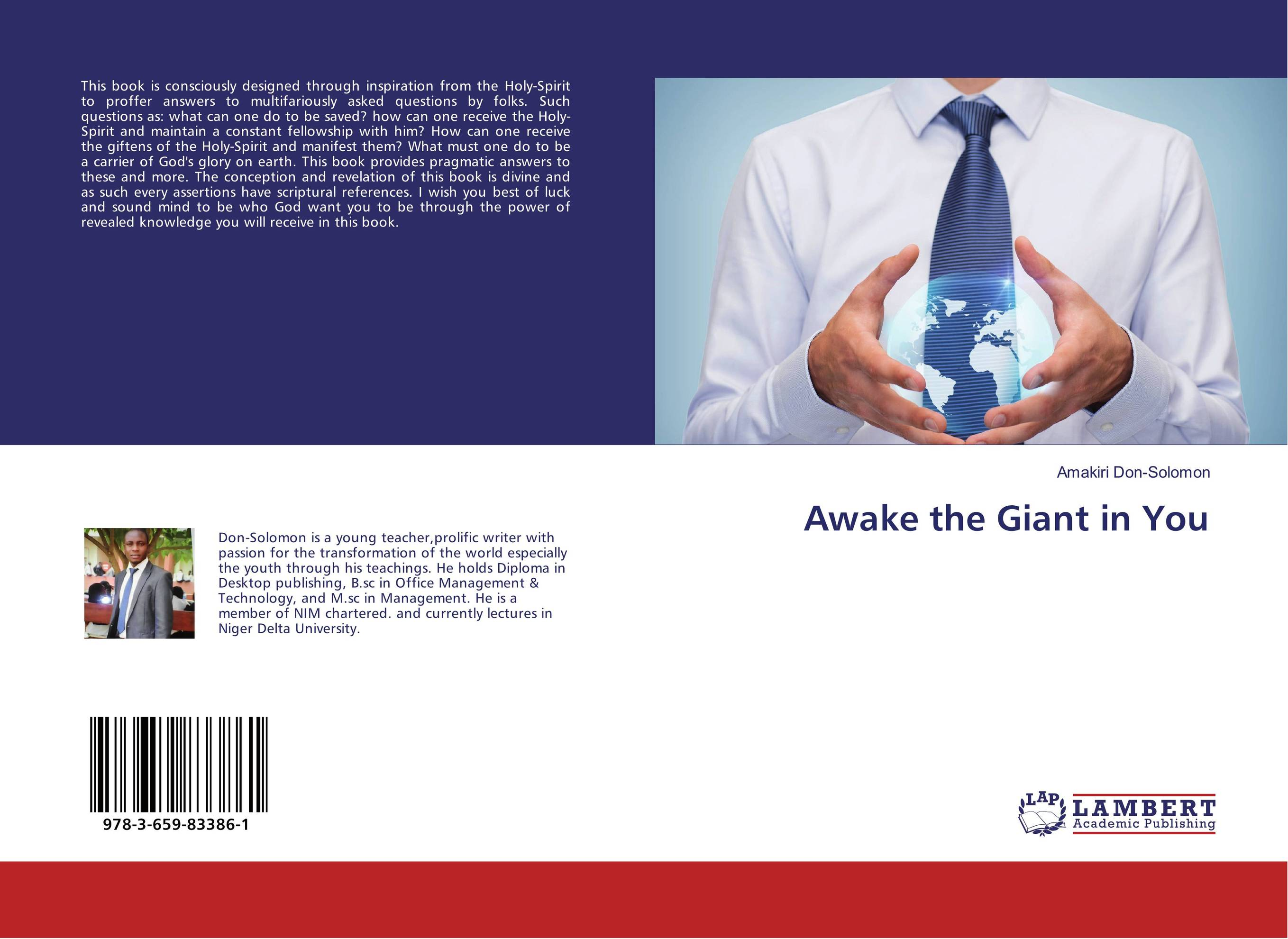 Awake the Giant in You the holy spirit the sanctifying power