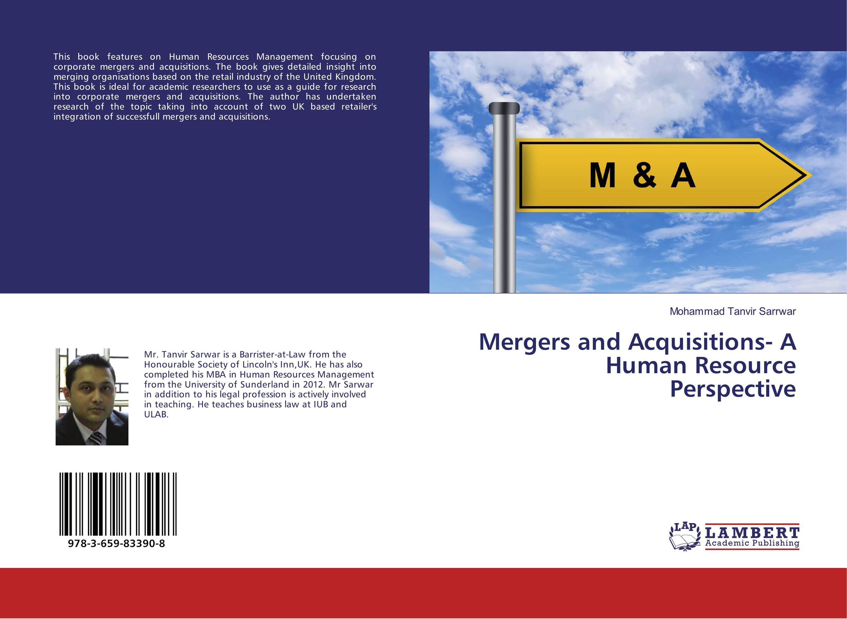 Mergers and Acquisitions- A Human Resource Perspective цена и фото