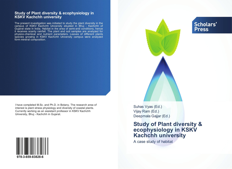 Study of Plant diversity & ecophysiology in KSKV Kachchh university мягкая игрушка monsters university campus 20057882