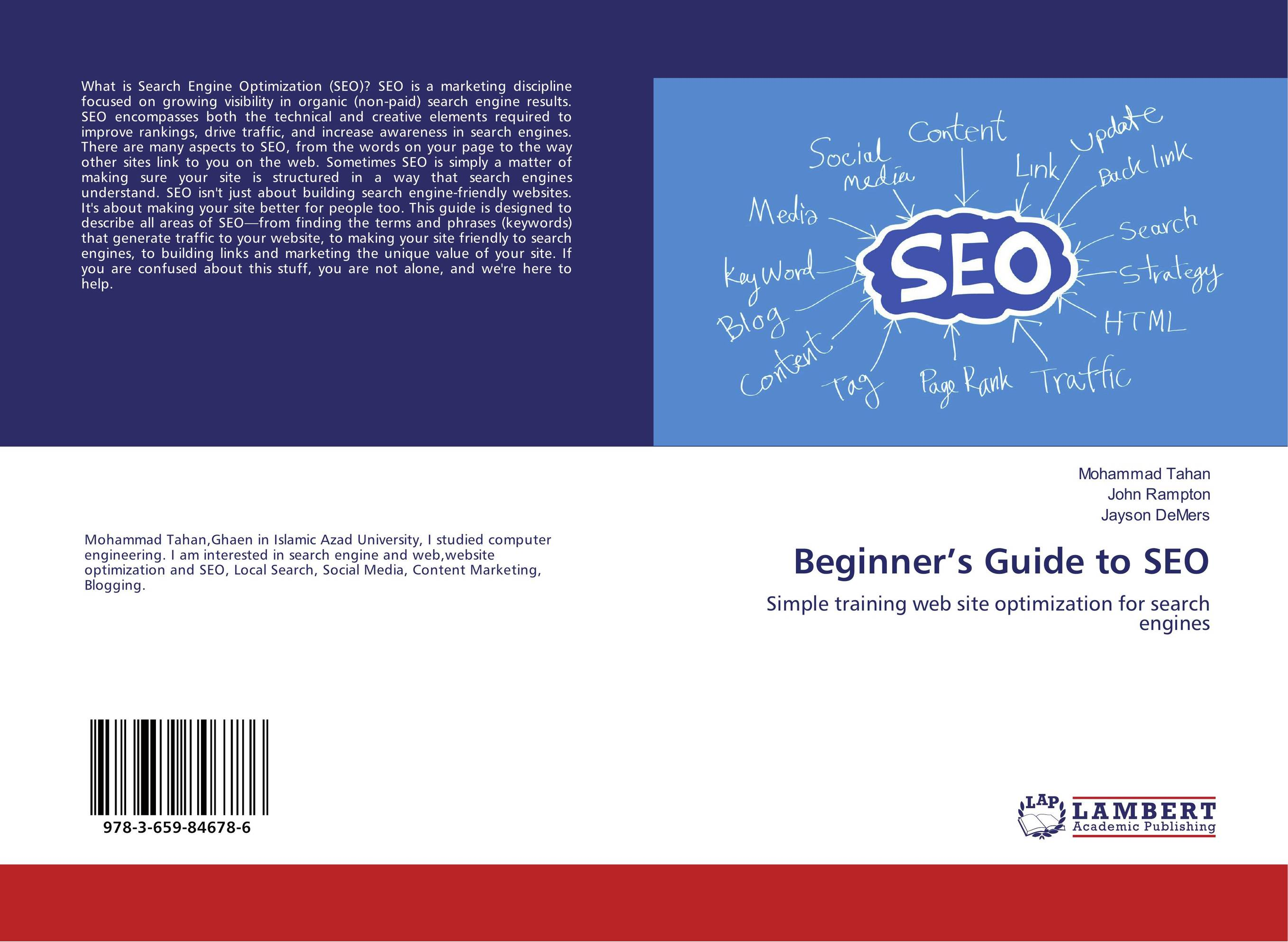 Beginner's Guide to SEO bruce clay search engine optimization all in one for dummies