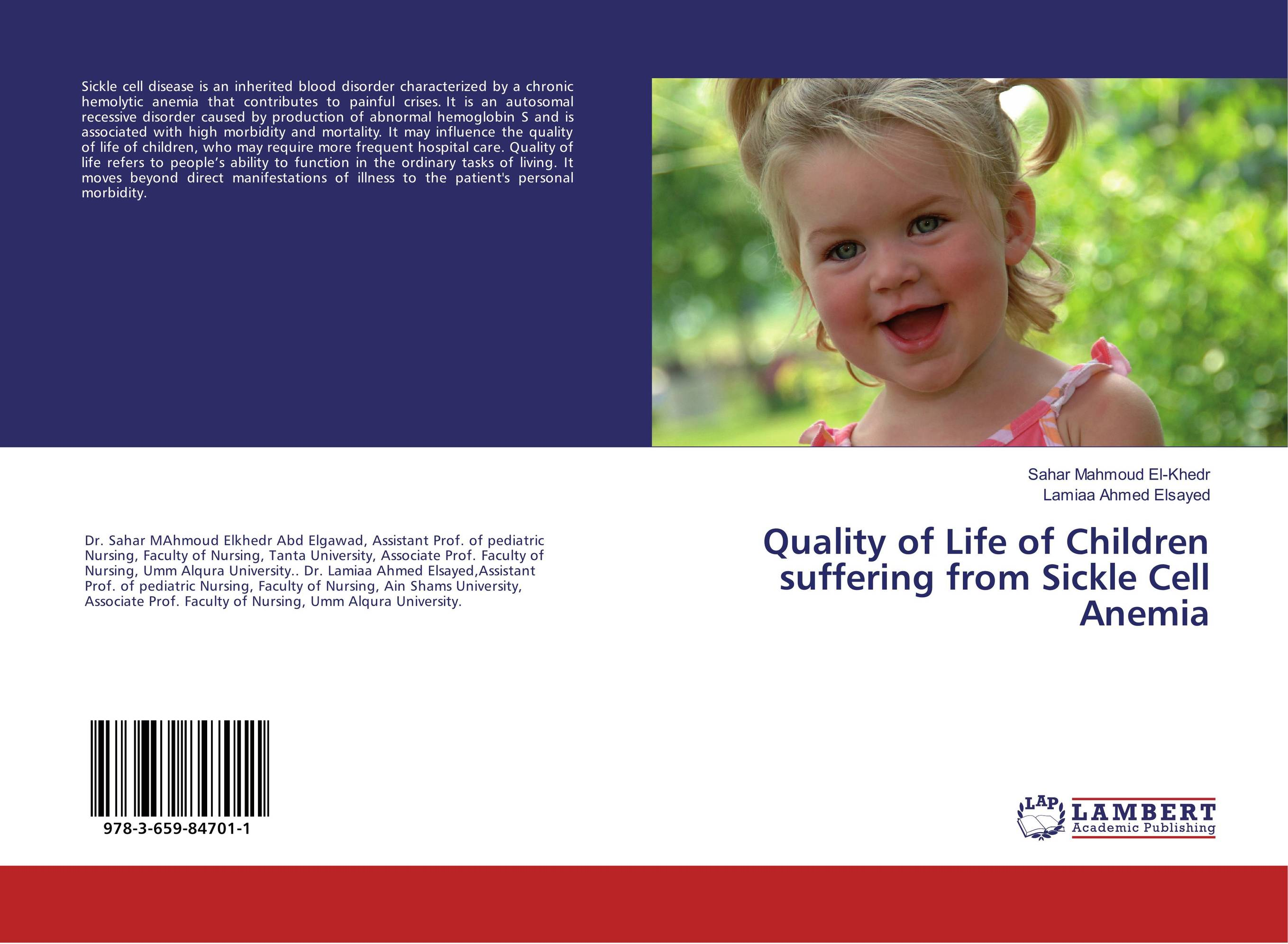 Quality of Life of Children suffering from Sickle Cell Anemia