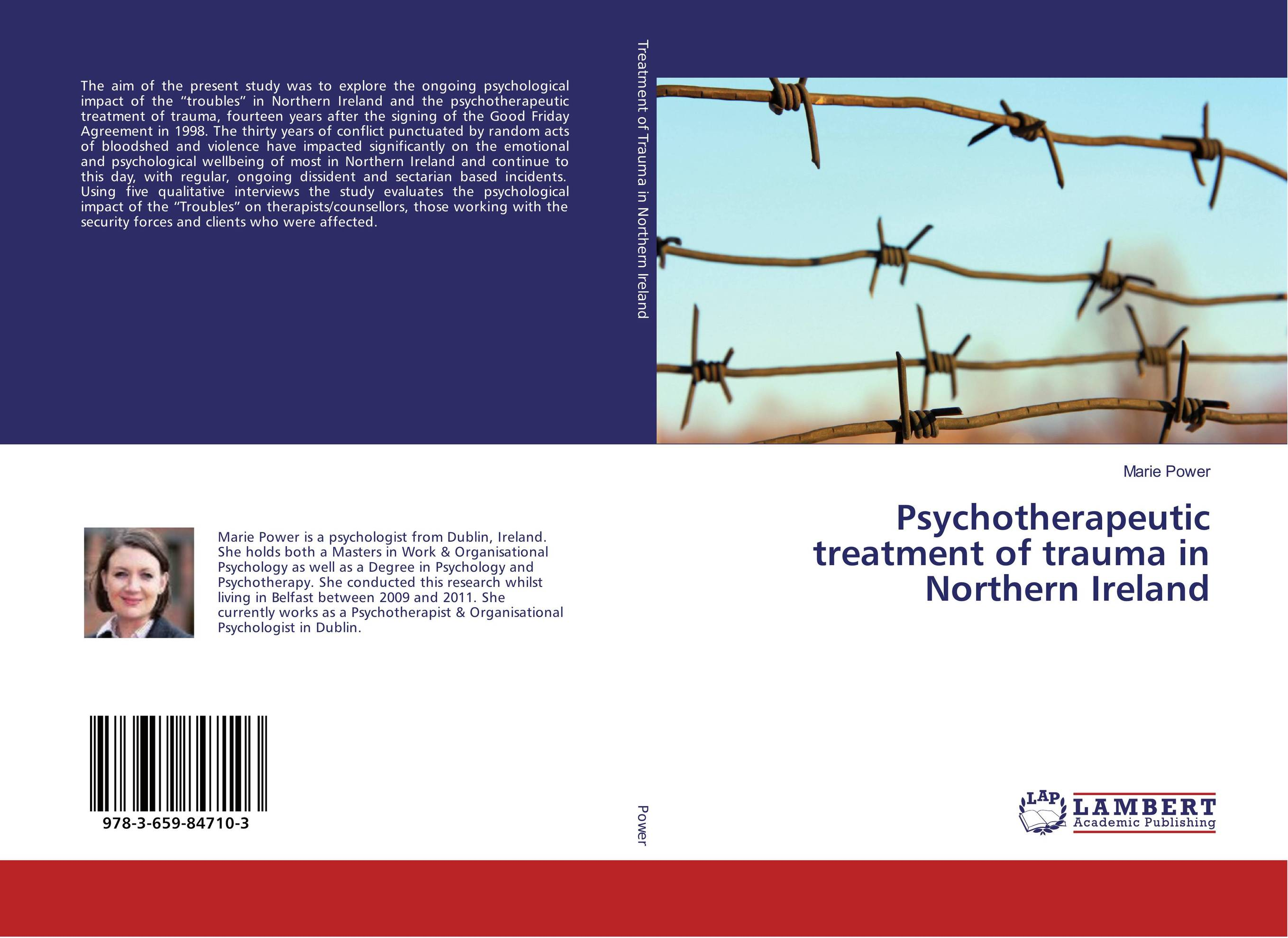 Psychotherapeutic treatment of trauma in Northern Ireland gregorian masters of chant moments of peace in ireland