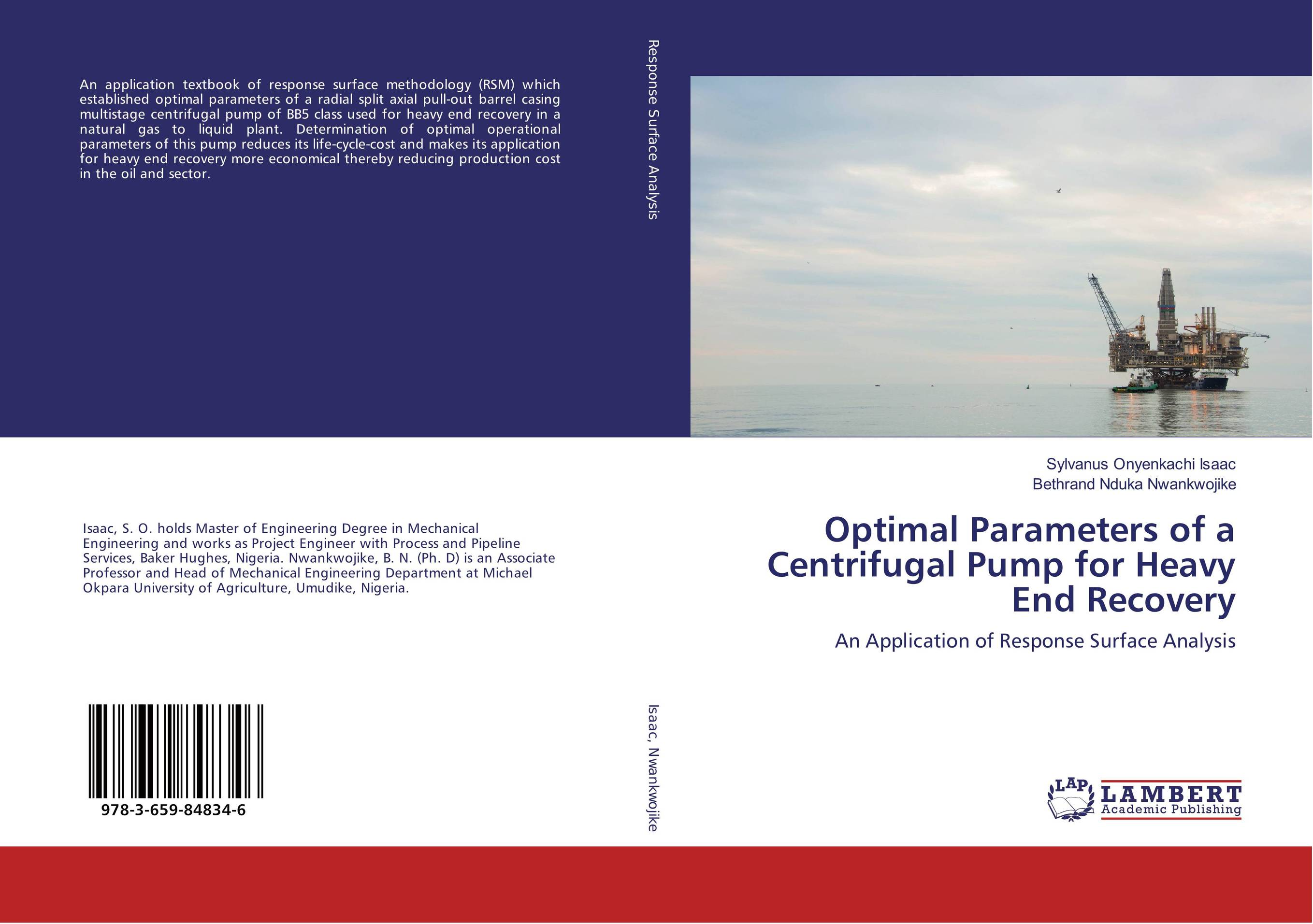 Optimal Parameters of a Centrifugal Pump for Heavy End Recovery