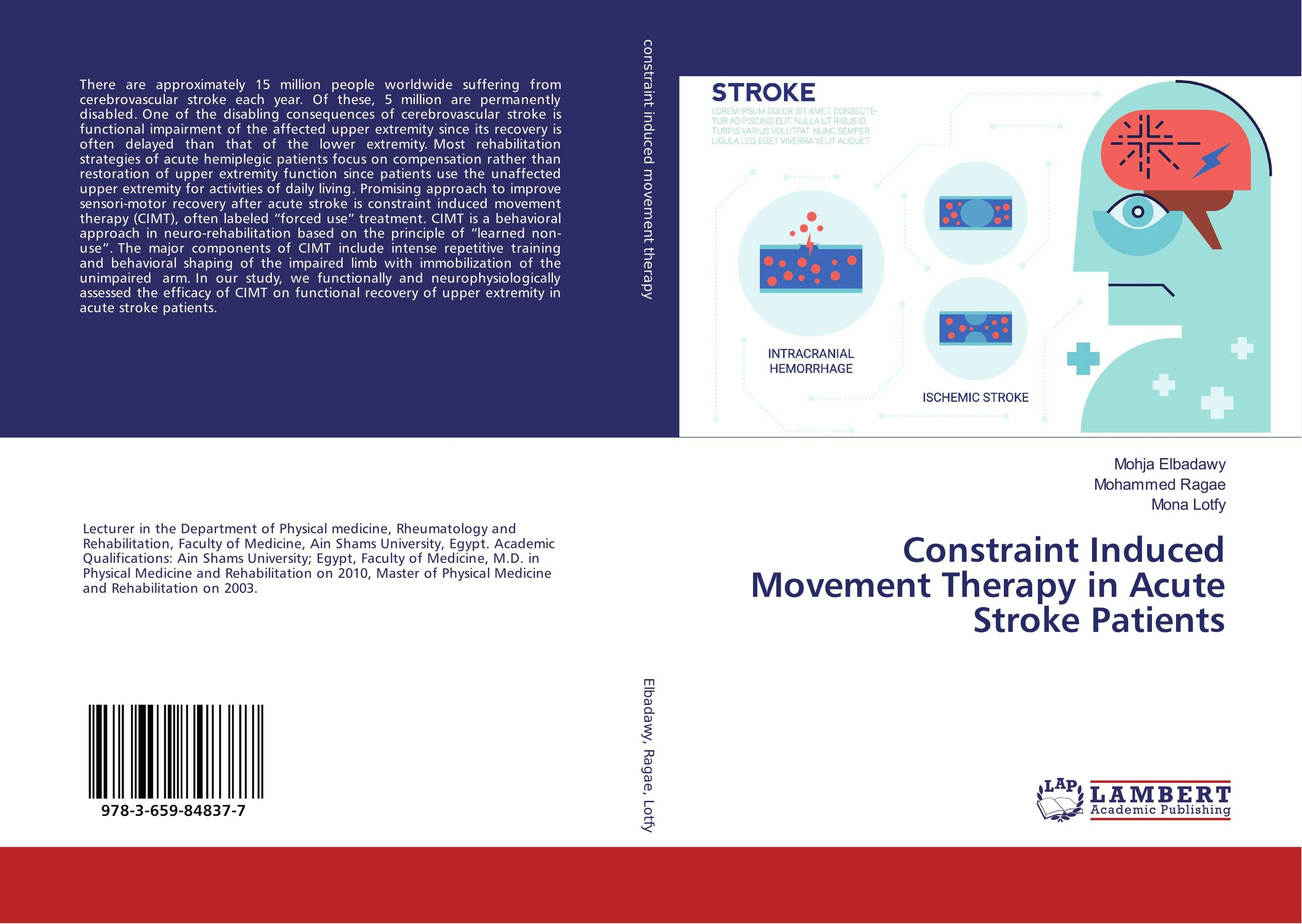 Constraint Induced Movement Therapy in Acute Stroke Patients upper lower limbs physiotherapy rehabilitation exercise therapy bike for serious hemiplegia apoplexy stroke patient lying in bed