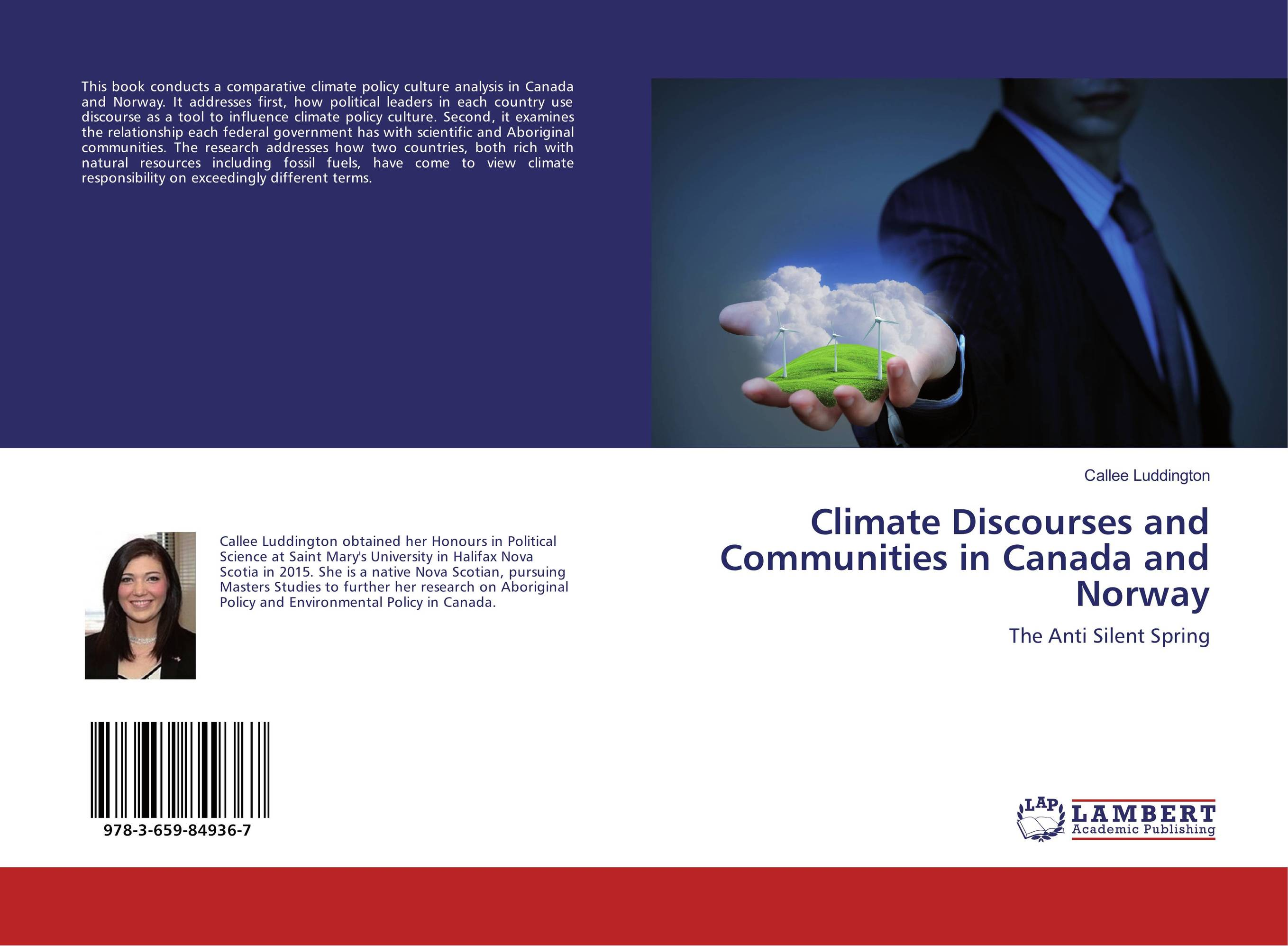 Climate Discourses and Communities in Canada and Norway hannell across canada – resources