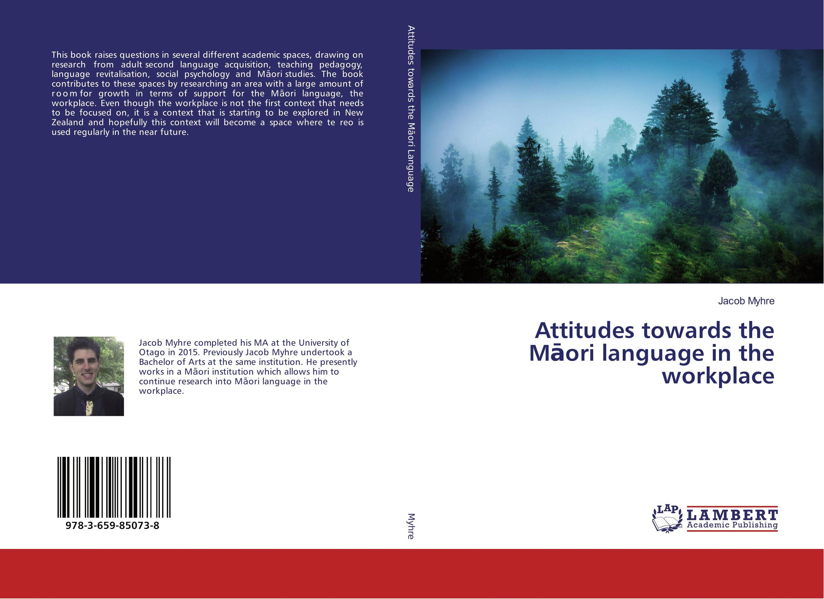 Attitudes towards the Maori language in the workplace zoltan dornyei the psychology of second language acquisition