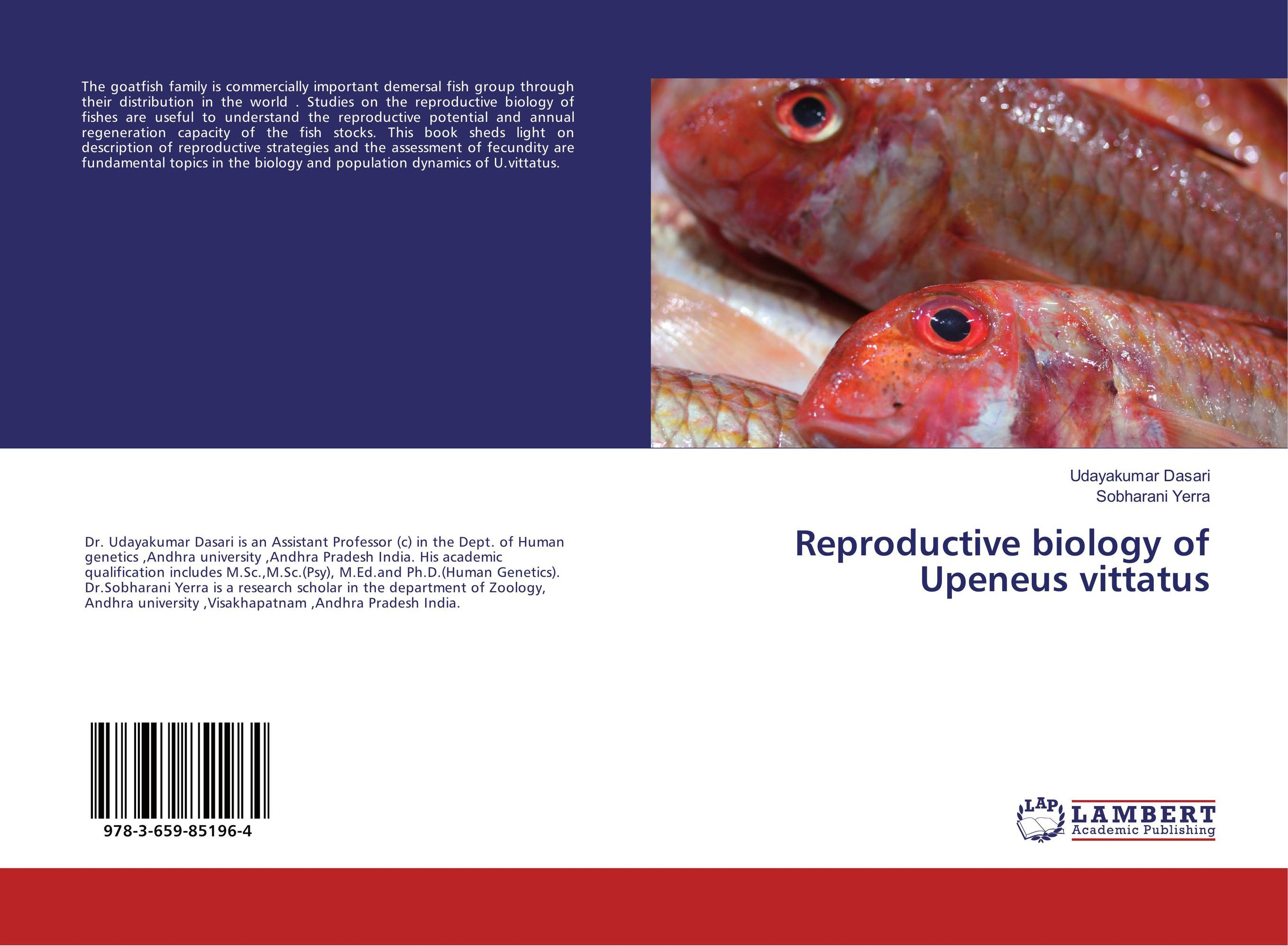Reproductive biology of Upeneus vittatus the biology of psychological disorders