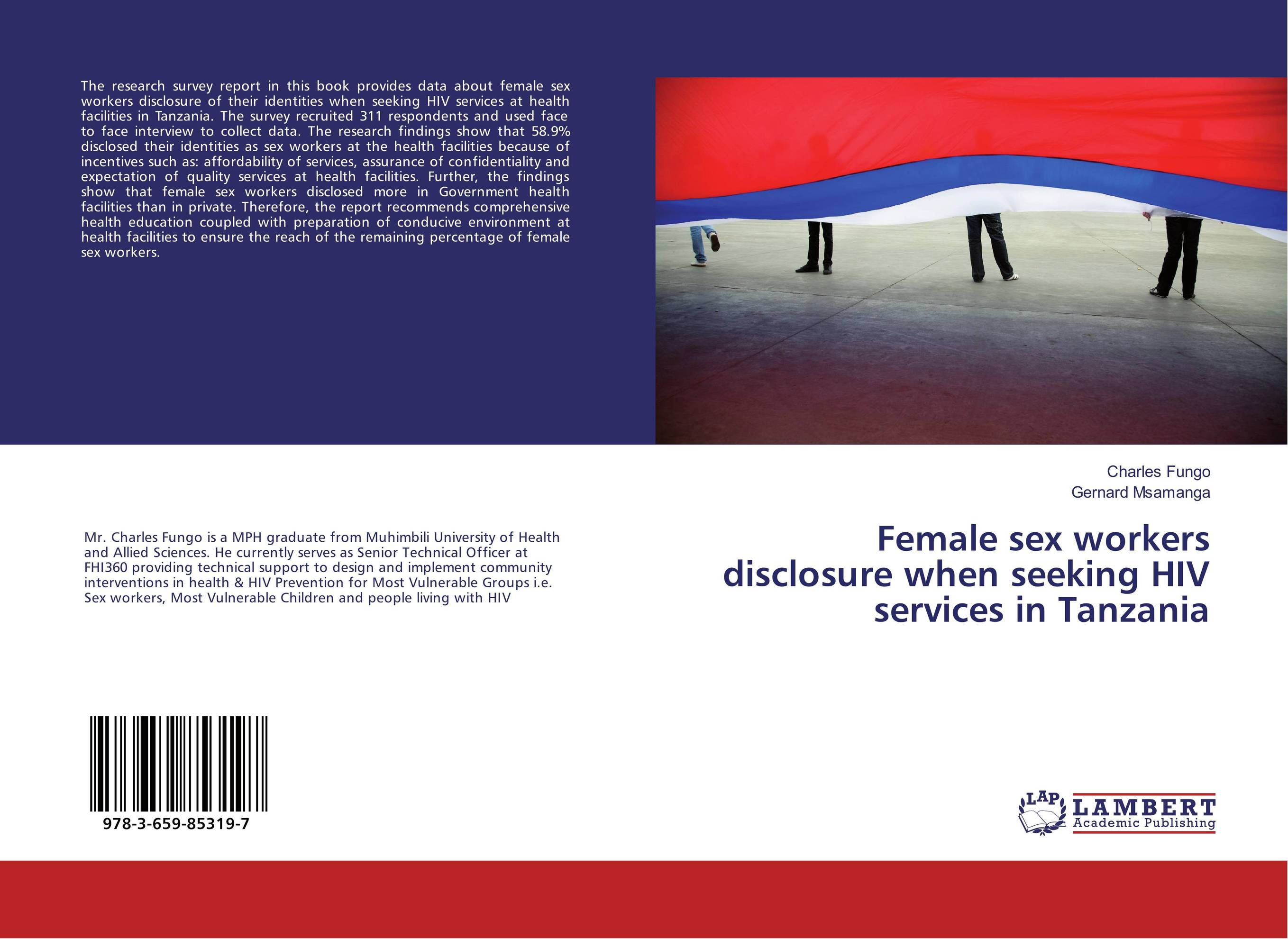 Female sex workers disclosure when seeking HIV services in Tanzania health awareness among continuing education workers
