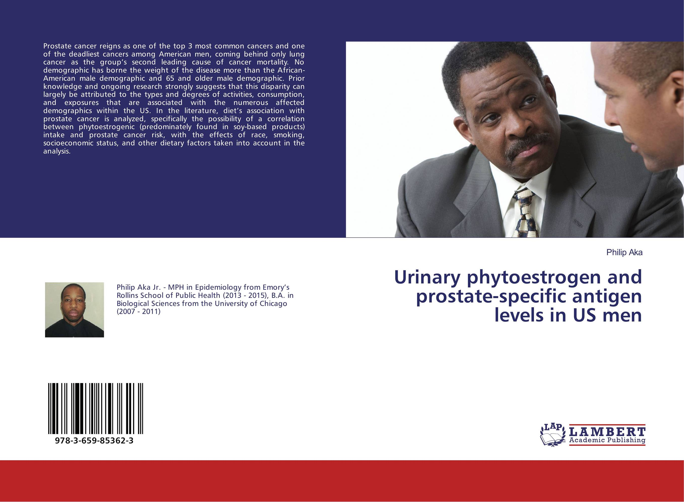 Urinary phytoestrogen and prostate-specific antigen levels in US men prostate cancer