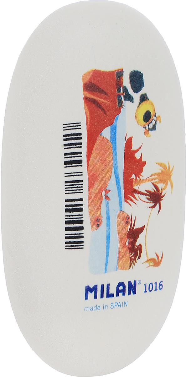 Milan Ластик ПальмыPNM1016_пальмыБольшой ластик овальной формы Milan Пальмы подходит для работы с мягкими карандашами и со специальными видами карандашей.Ластик хорошо подходит для создания свето-теневых эффектов в портретных работах.