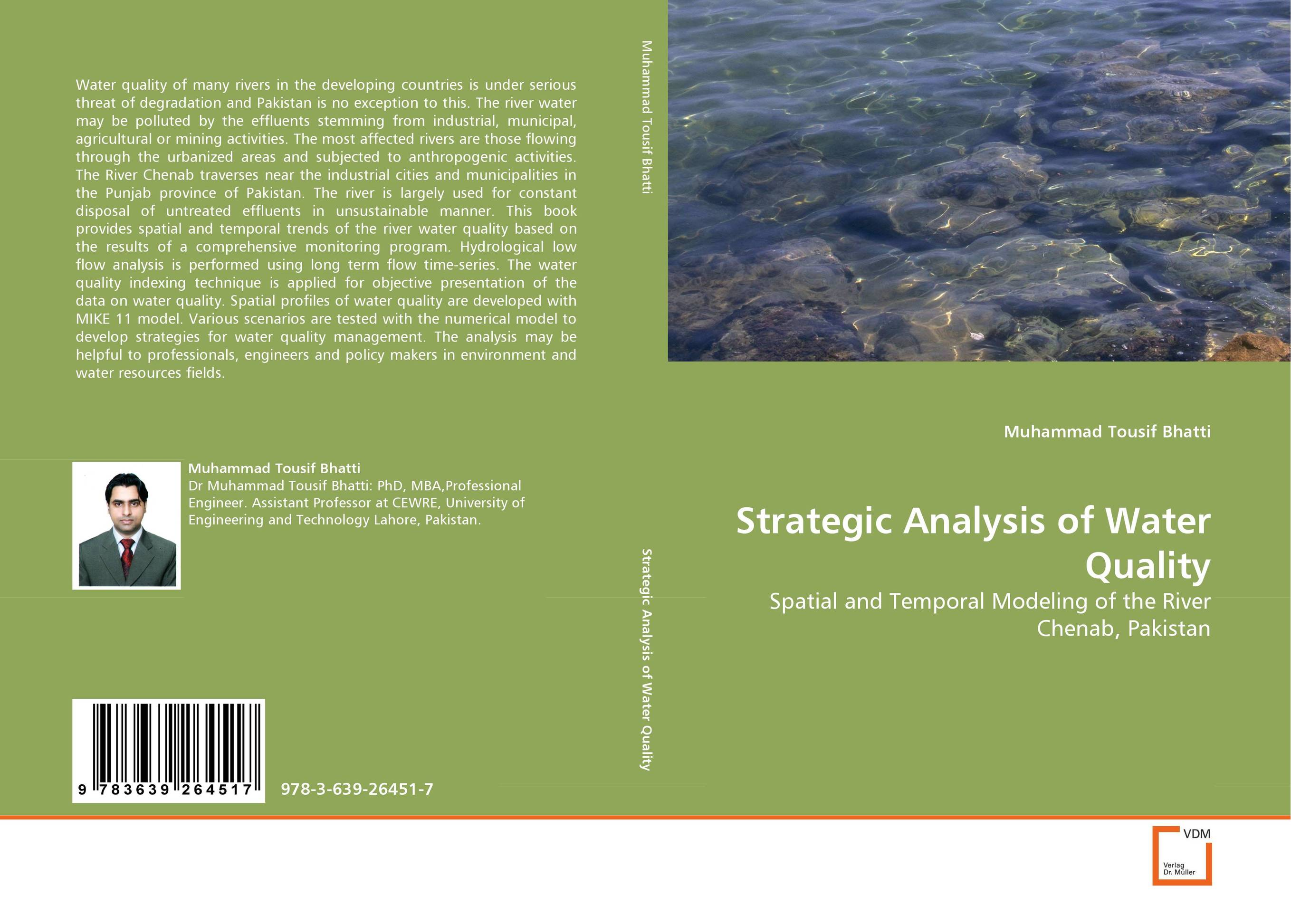Strategic Analysis of Water Quality effects of dams on river water quality