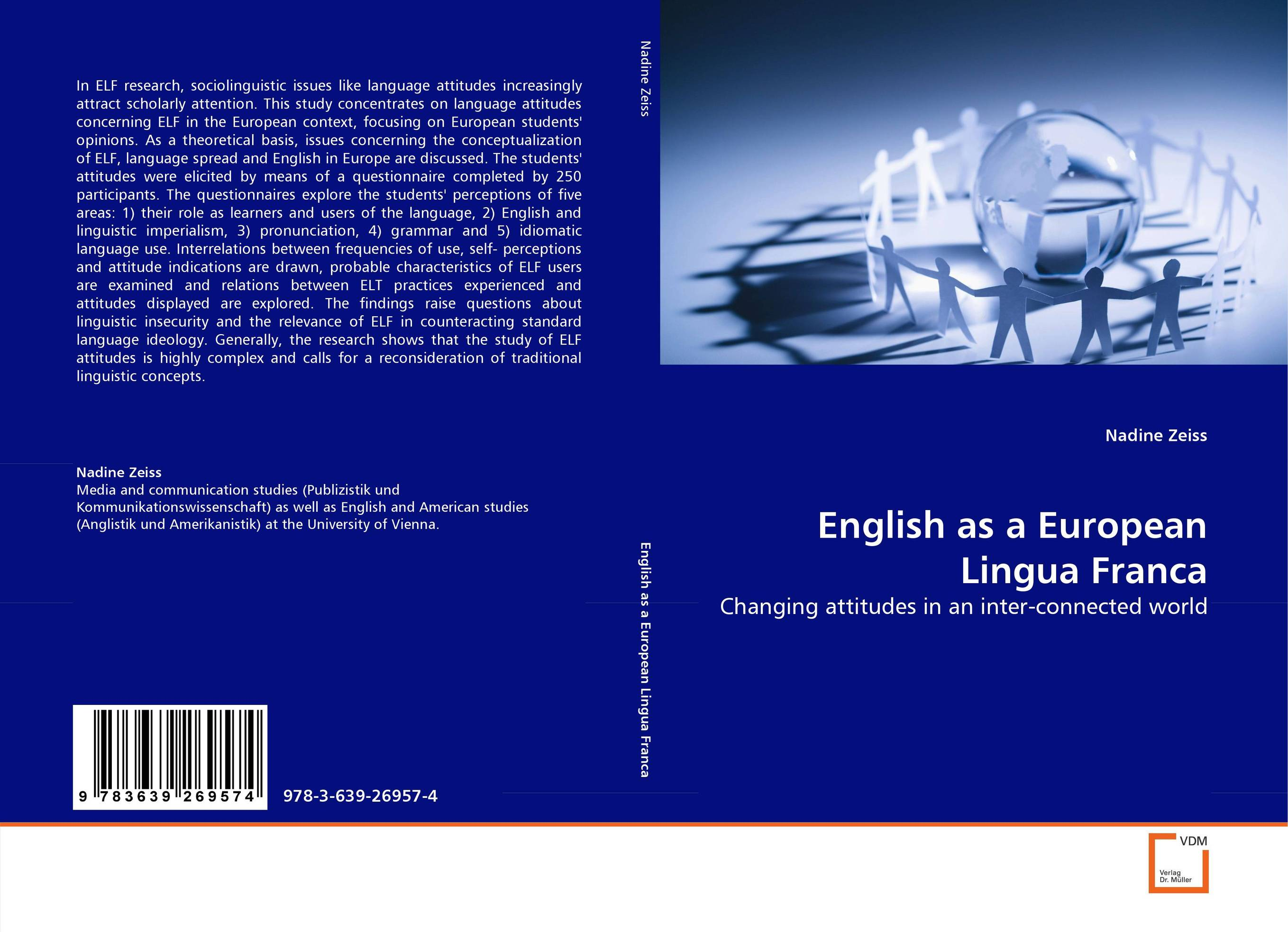 English as a European Lingua Franca attitudes to bilingualism among japanese learners of english