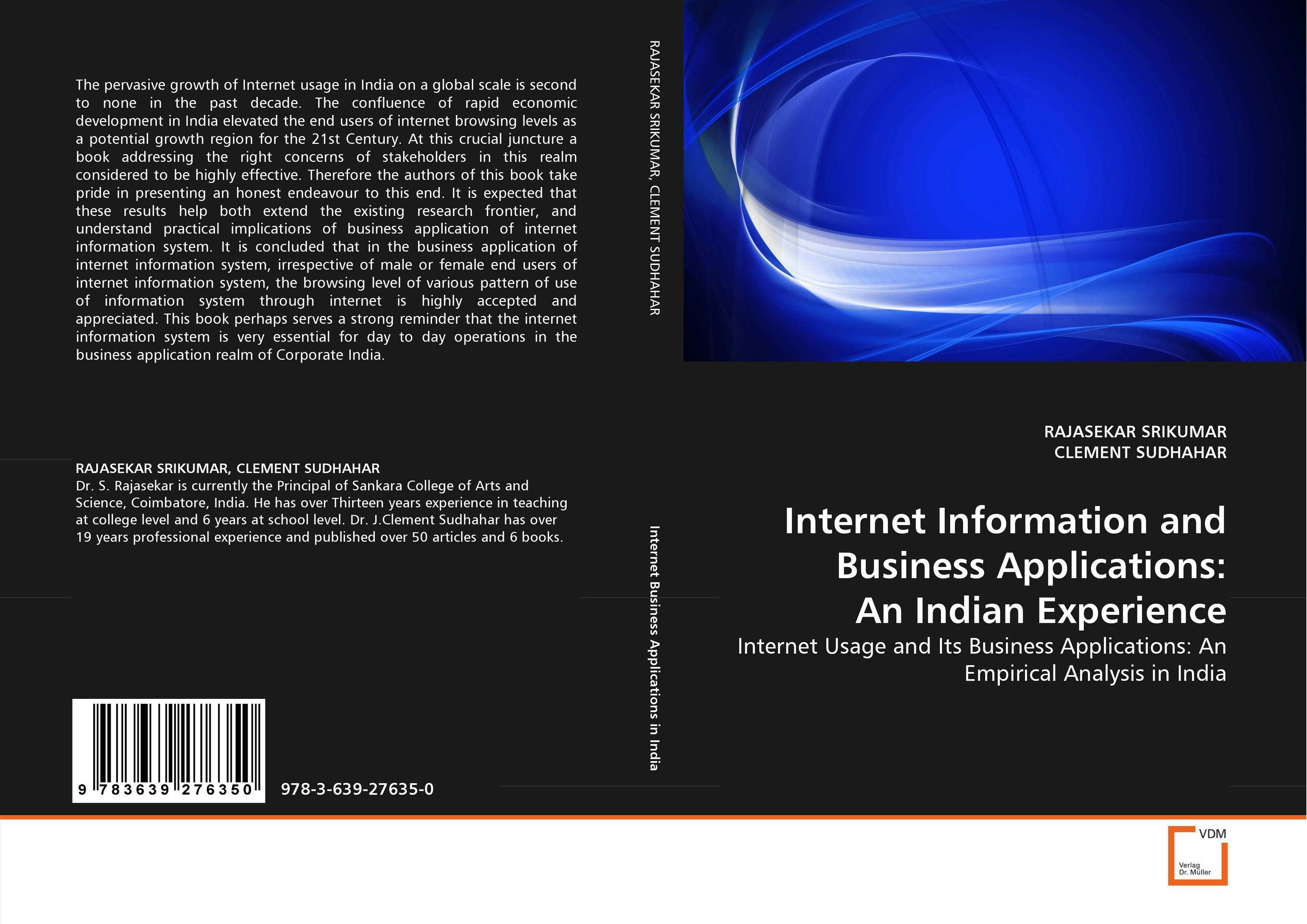 Internet Information and Business Applications: An Indian Experience lightweight and robust security for applications in internet of things