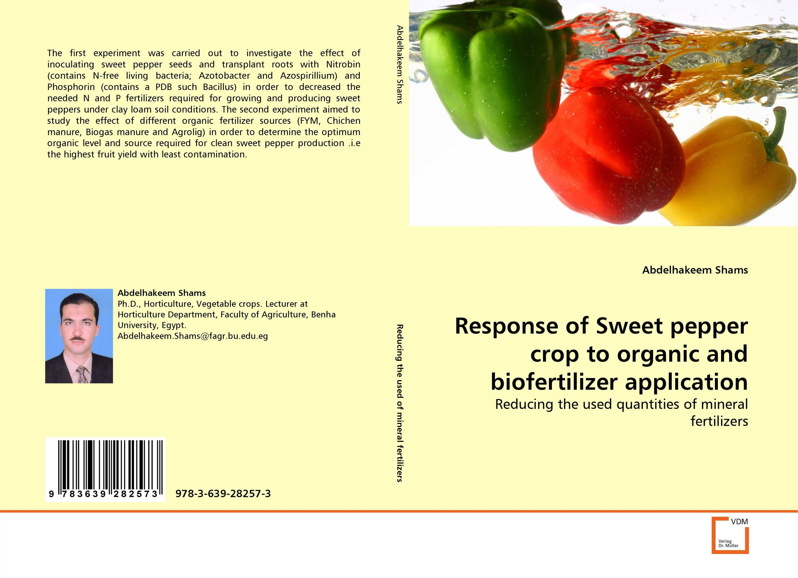 Response of Sweet pepper crop to organic and biofertilizer application patrick p the curious charms of arthur pepper