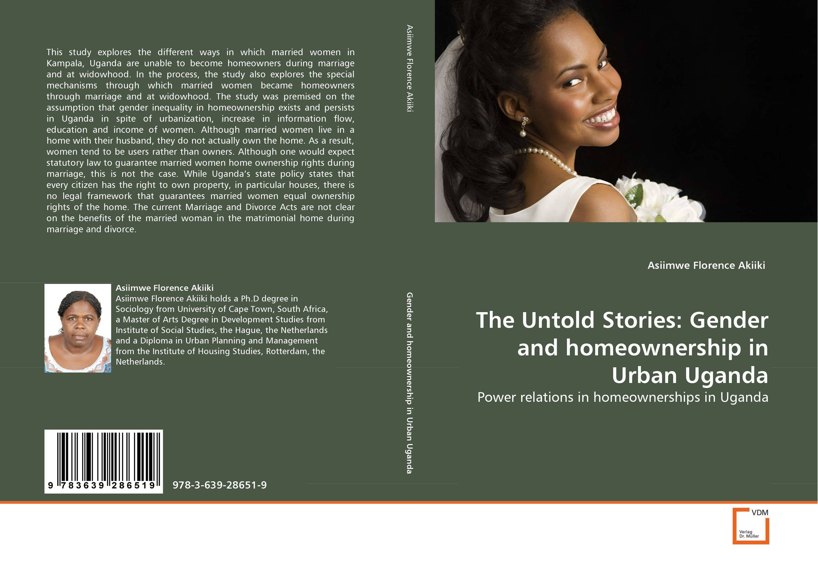 The Untold Stories: Gender and homeownership in Urban Uganda married to the game
