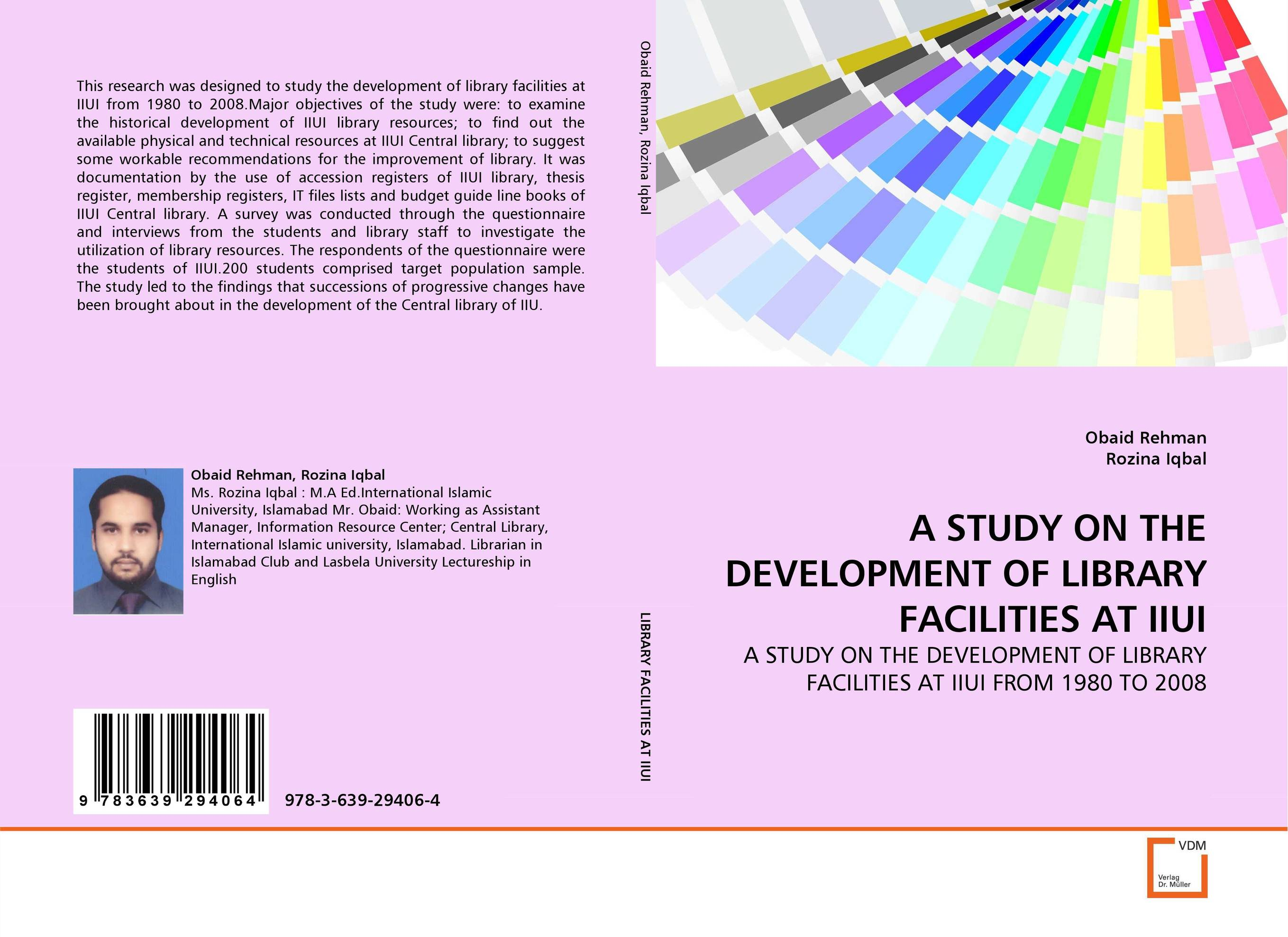 A STUDY ON THE DEVELOPMENT OF LIBRARY FACILITIES AT IIUI a study of the religio political thought of abdurrahman wahid