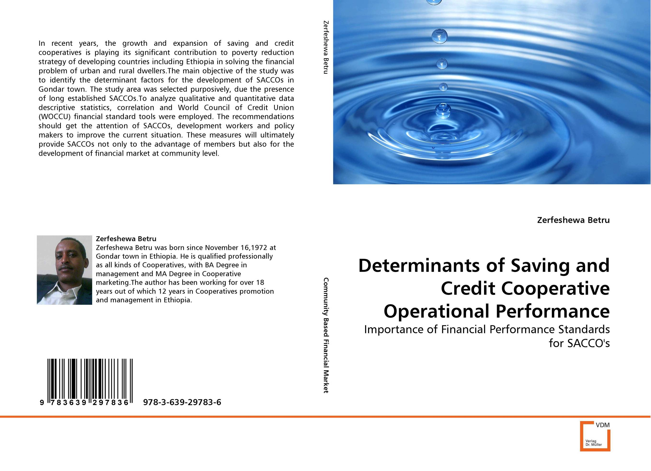 Determinants of Saving and Credit Cooperative Operational Performance