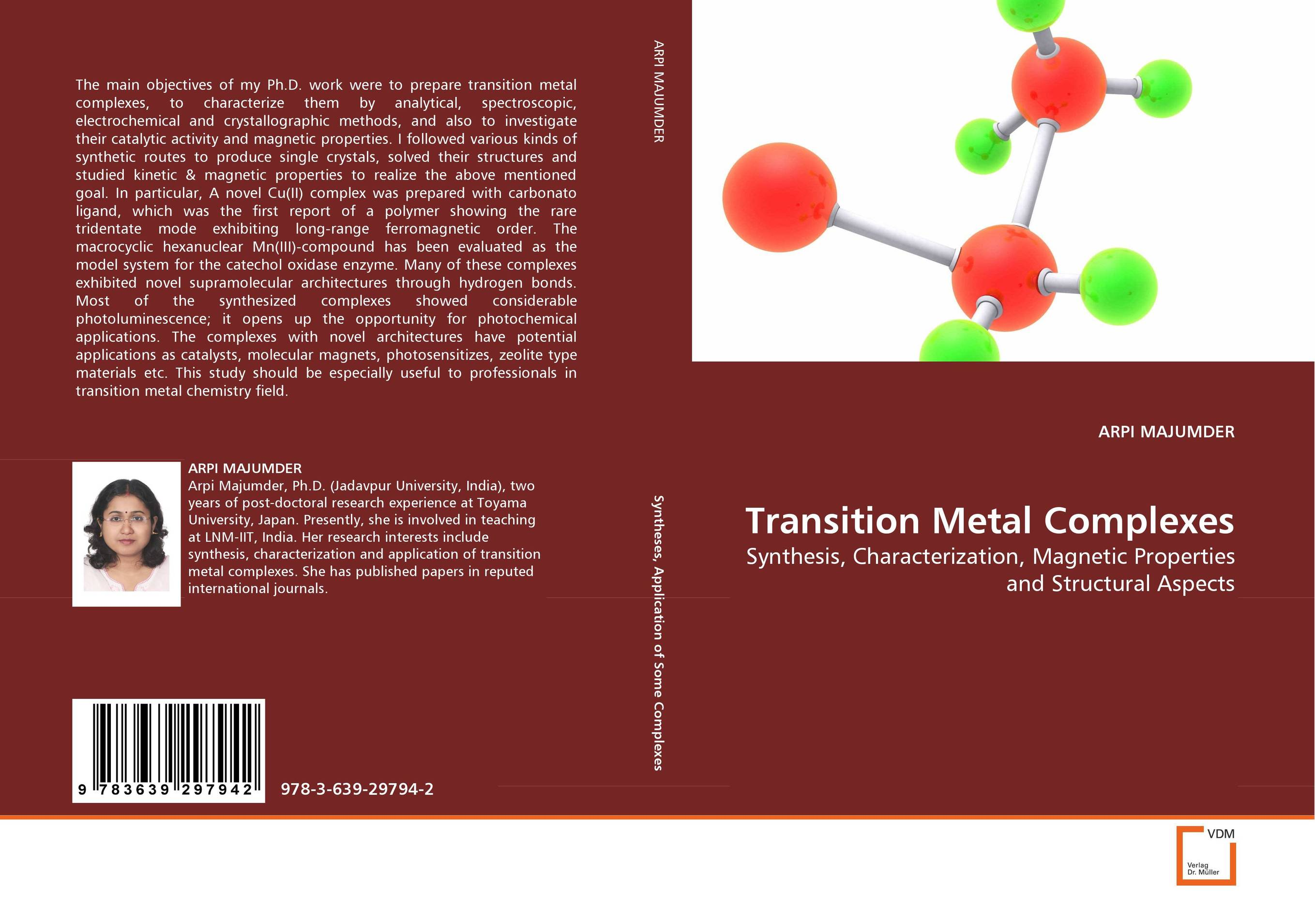 Transition Metal Complexes transition metal complexes of thiosemicarbazone
