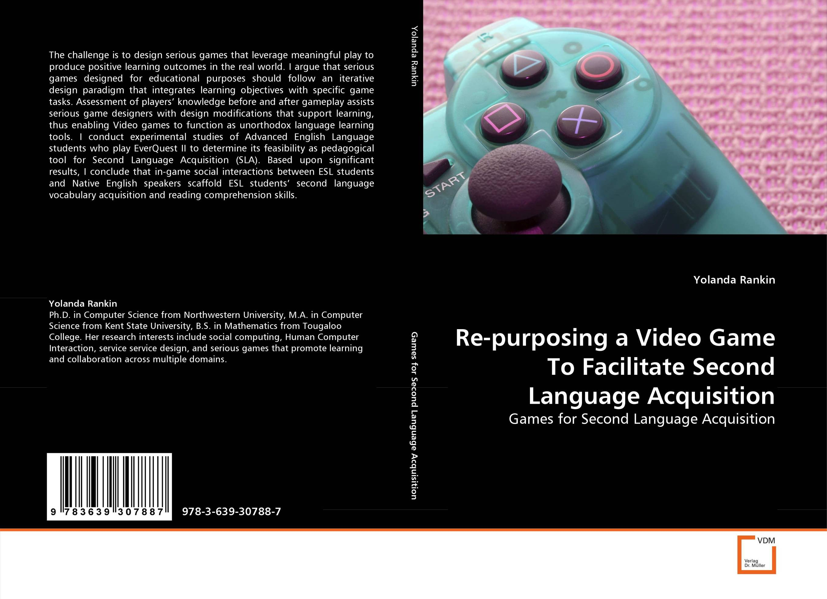 Re-purposing a Video Game To Facilitate Second Language Acquisition constructing a language – a usage–based theory of language acquisition