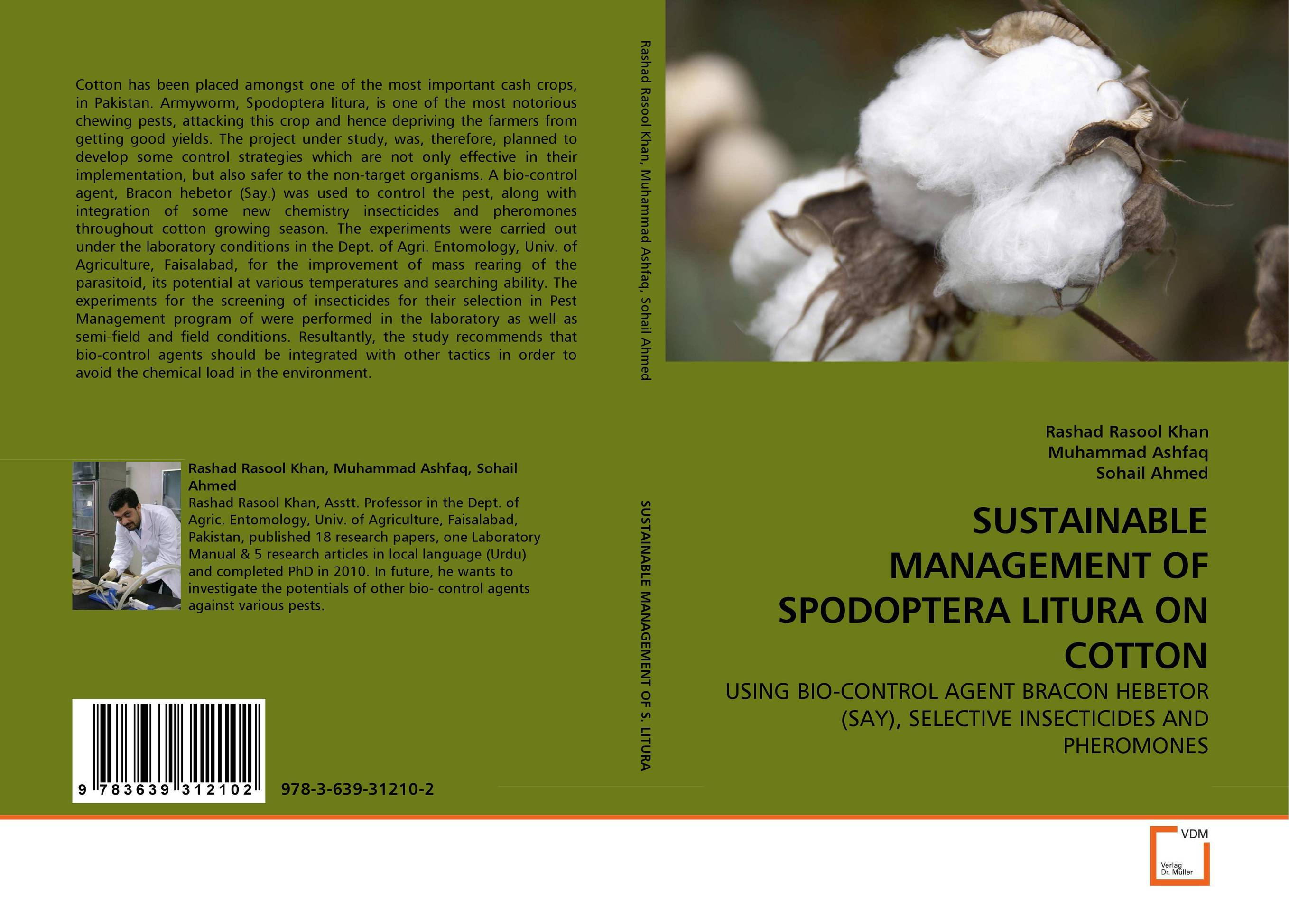SUSTAINABLE MANAGEMENT OF SPODOPTERA LITURA ON COTTON
