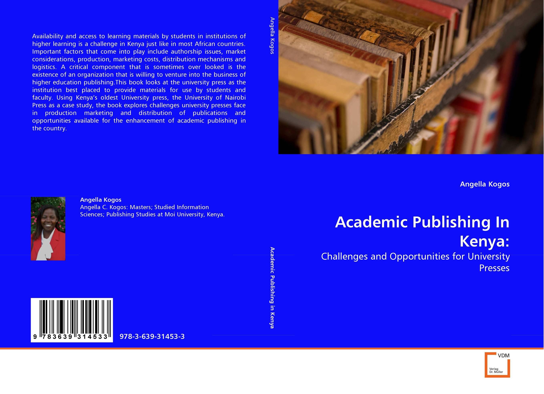 Academic Publishing In Kenya: critical success factors in multichannel mobile marketing