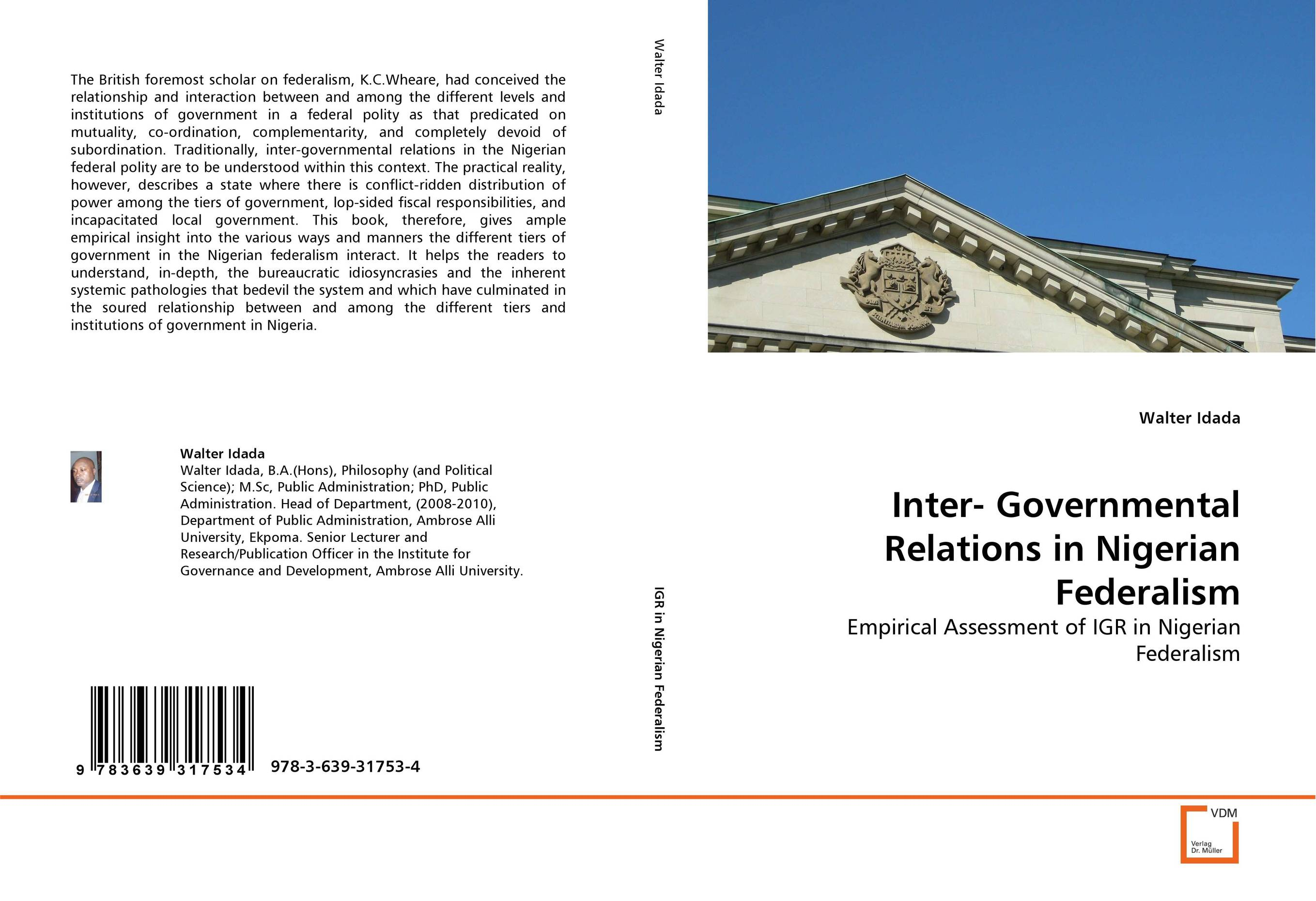 Inter- Governmental Relations in Nigerian Federalism