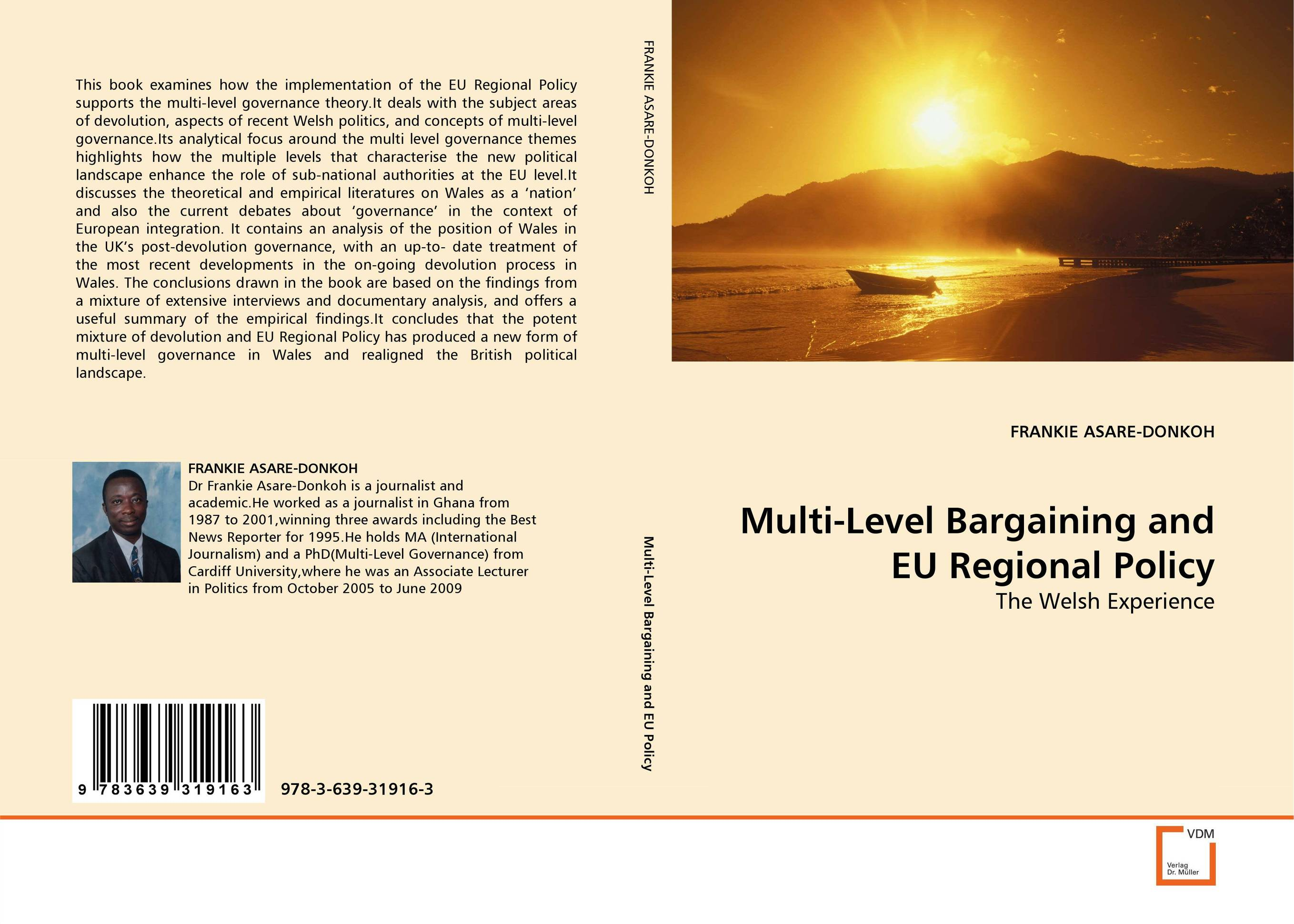 Multi-Level Bargaining and EU Regional Policy patrycja dabrowska eu governance of gmos