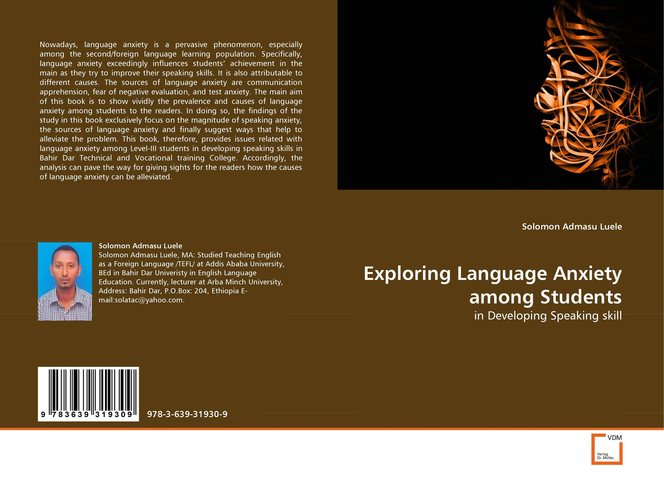 Exploring Language Anxiety among Students foreign language speaking anxiety in asking questions in class