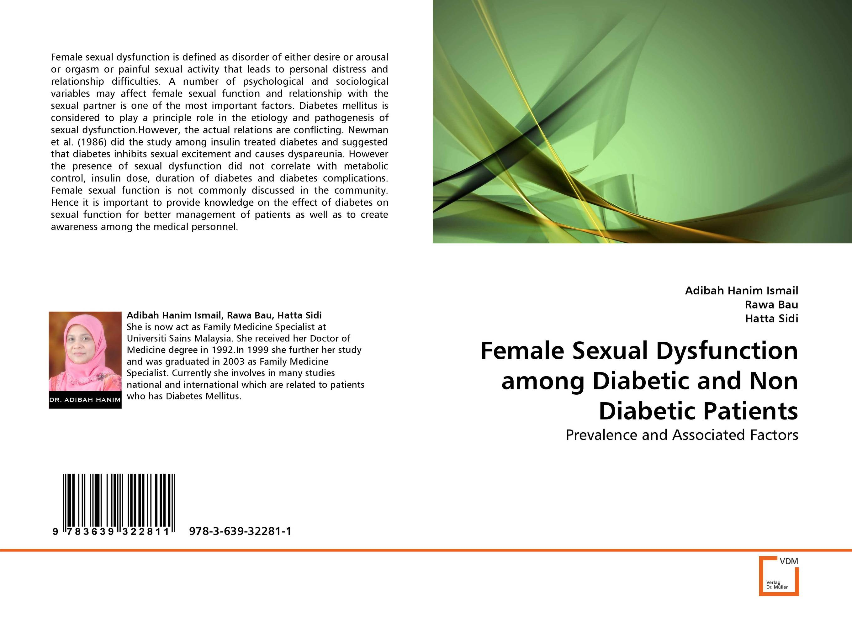 Female Sexual Dysfunction among Diabetic and Non Diabetic Patients 5boxes 10pcs prostatitis pad to treat prostate disease sexual dysfunction of male pad urological pad painful urination