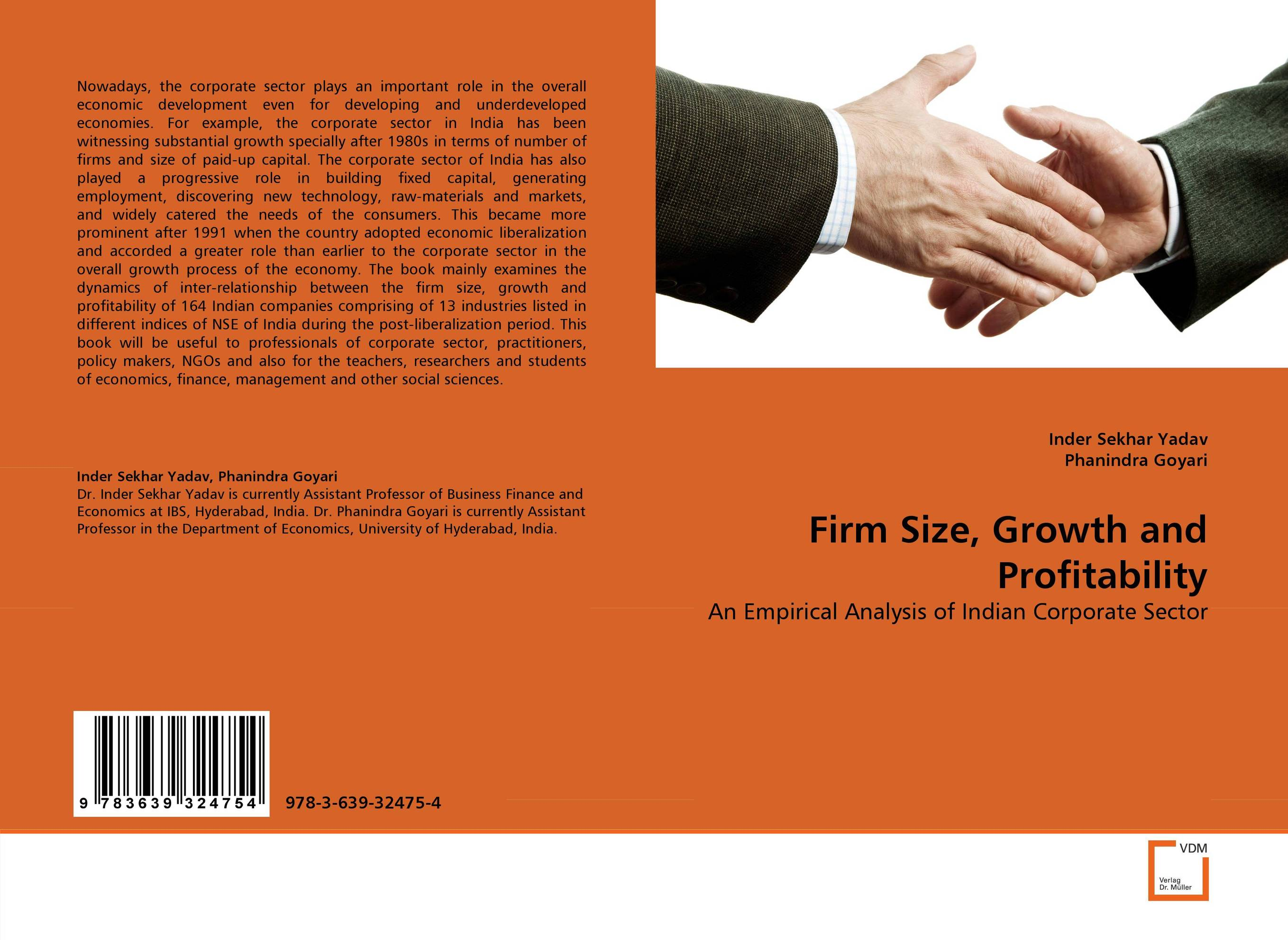 Firm Size, Growth and Profitability customer orientation as a basis for corporate growth