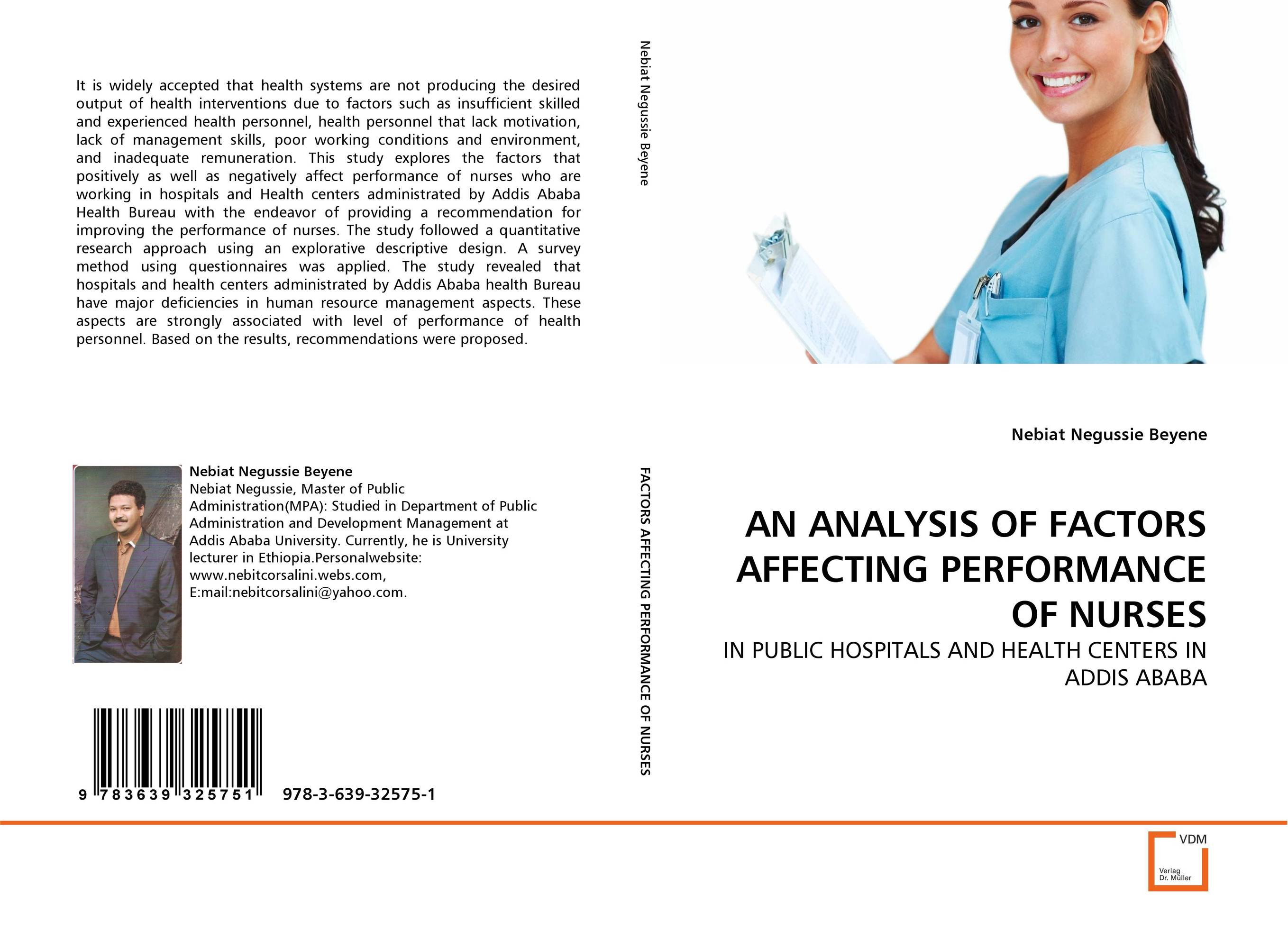 AN ANALYSIS OF FACTORS AFFECTING PERFORMANCE OF NURSES bb spf20