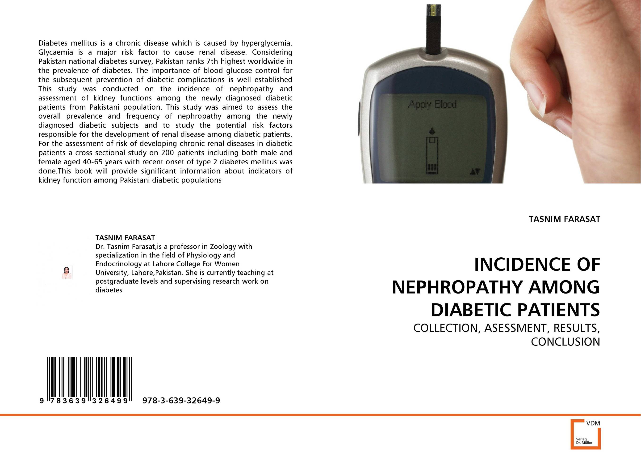INCIDENCE OF NEPHROPATHY AMONG DIABETIC PATIENTS prevalence of intestinal parasitosis among children