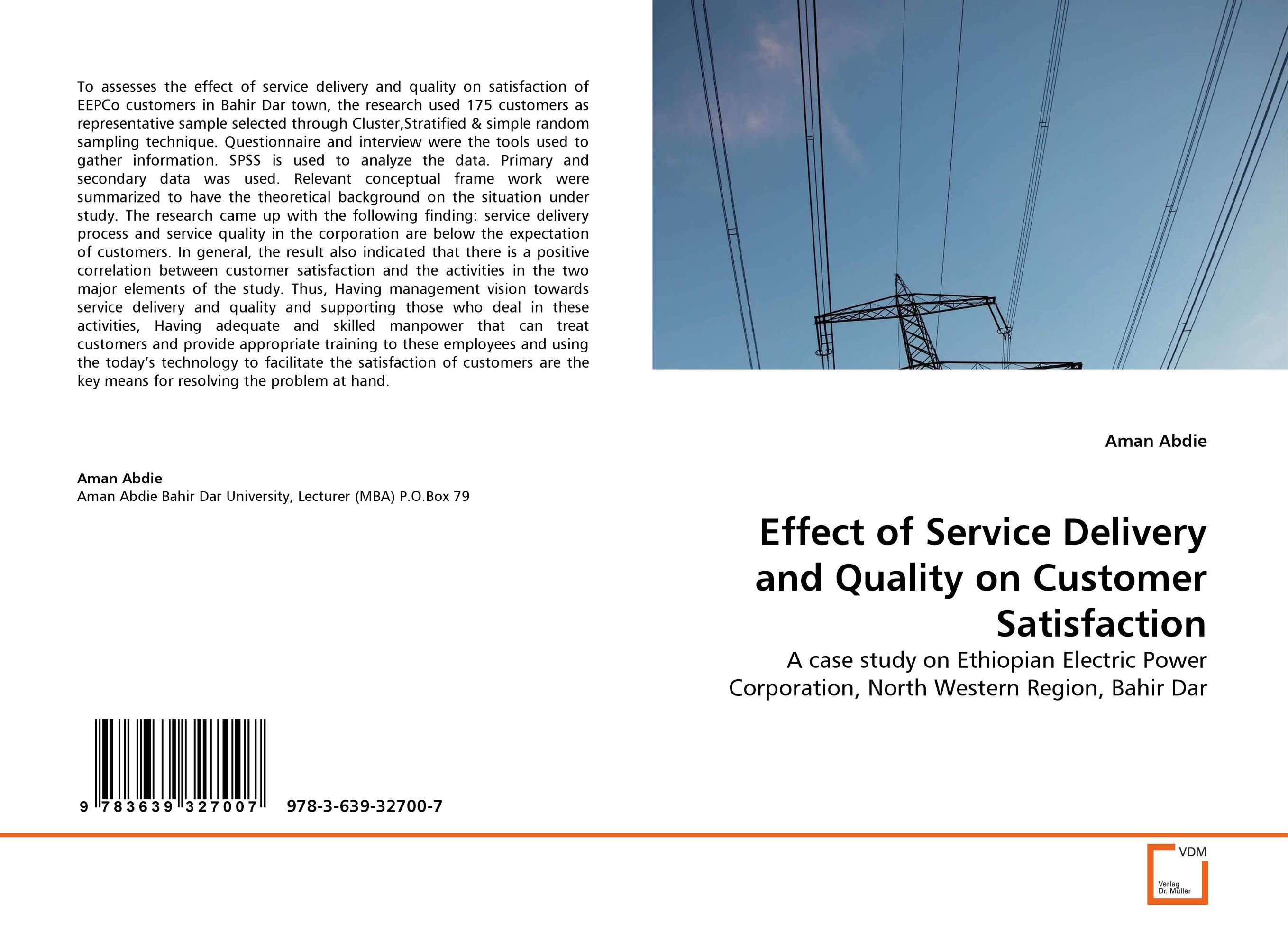 цены Effect of Service Delivery and Quality on Customer Satisfaction