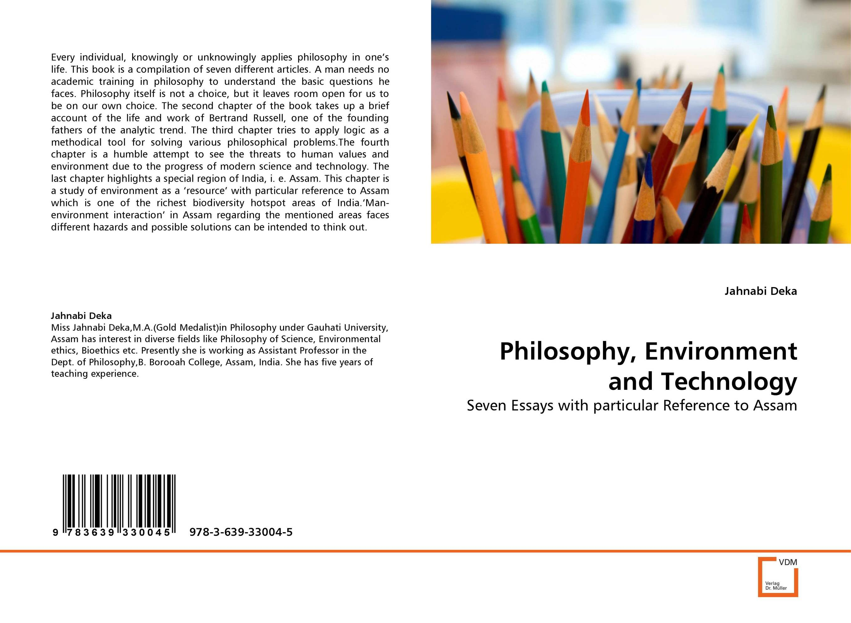 Philosophy, Environment and Technology