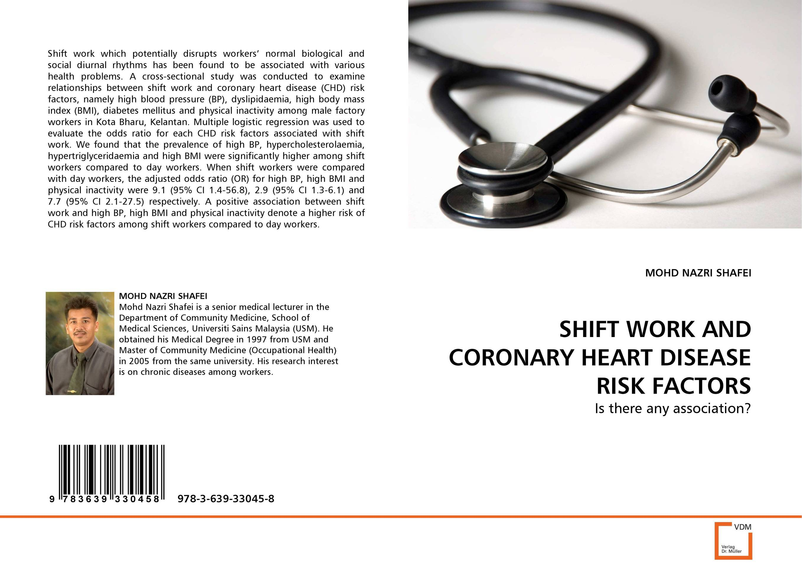 SHIFT WORK AND CORONARY HEART DISEASE RISK FACTORS abo and genetic risk factors associated with venous thrombosis