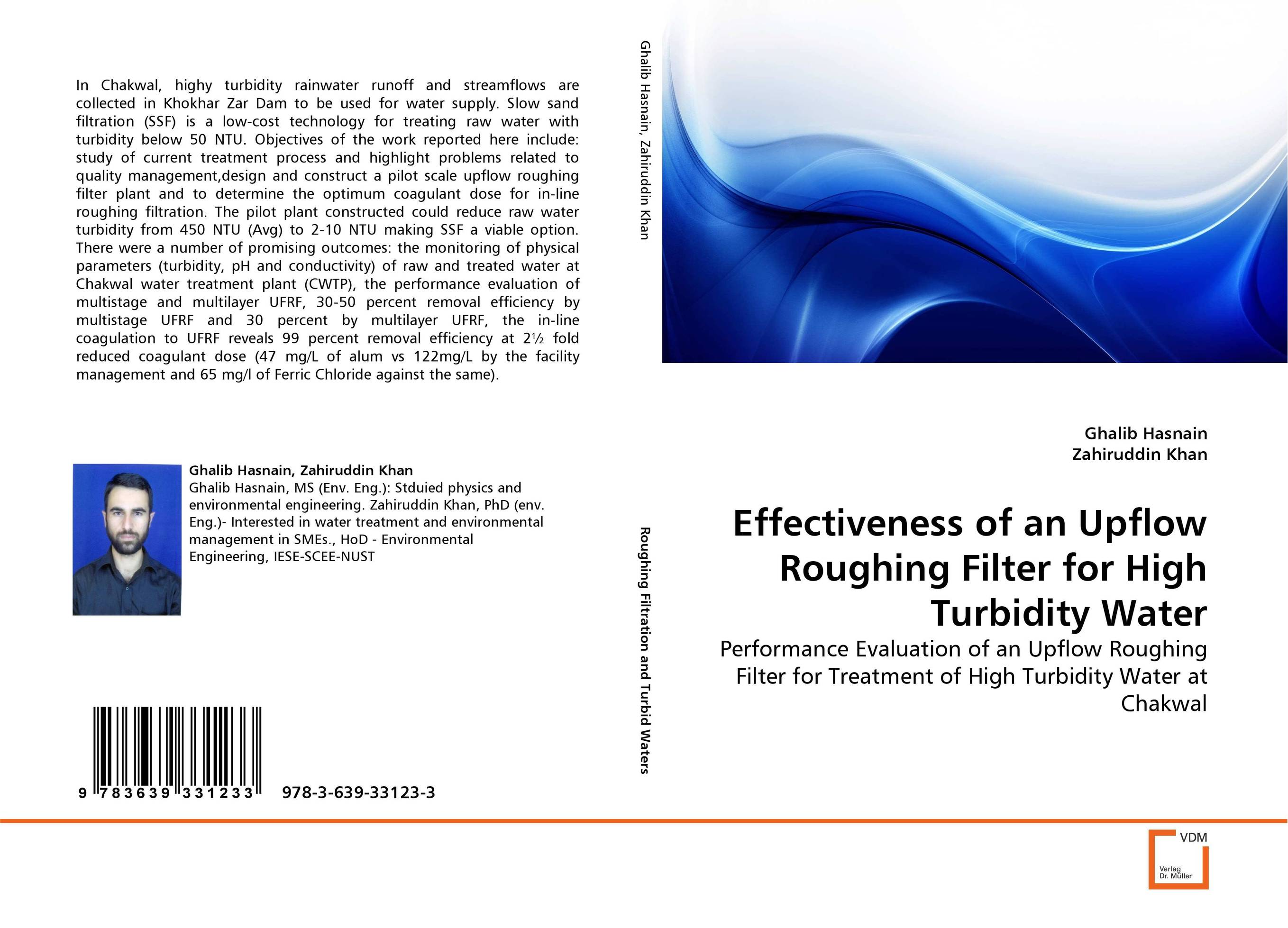 Effectiveness of an Upflow Roughing Filter for High Turbidity Water analysis fate and removal of pharmaceuticals in the water cycle 50