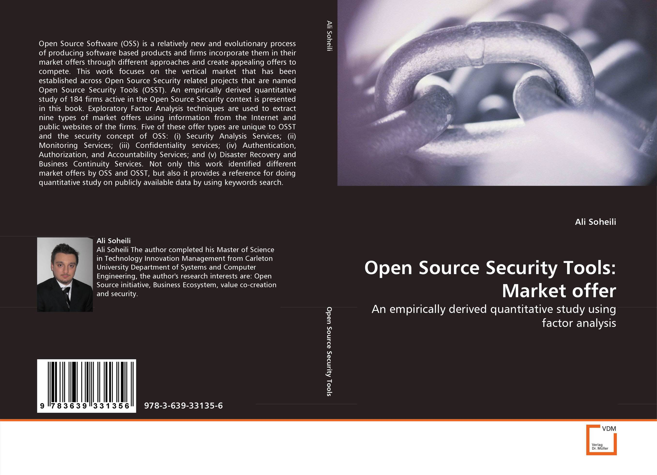 Open Source Security Tools: Market offer analyzing the usage of open source products for soa