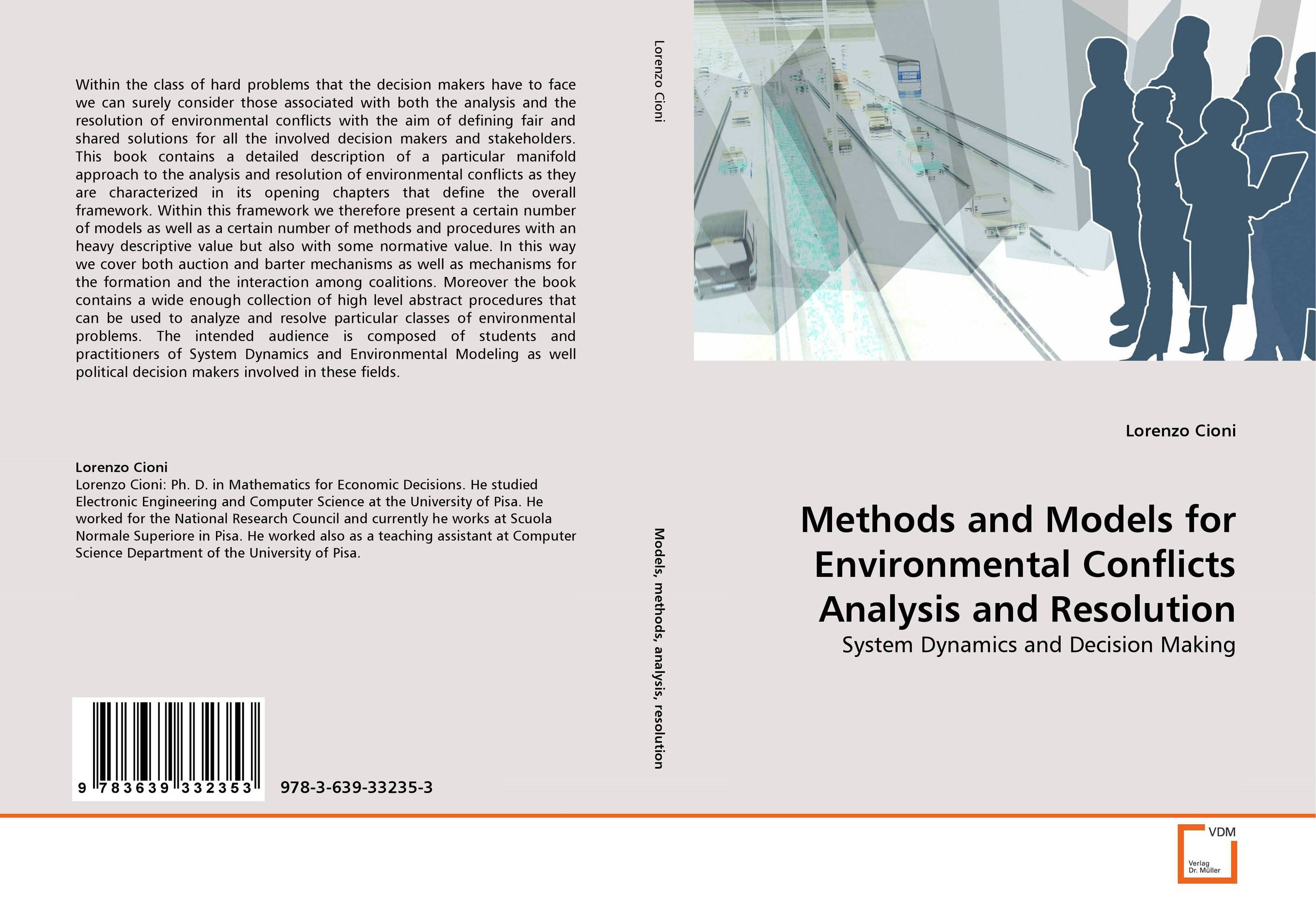 Methods and Models for Environmental Conflicts Analysis and Resolution sampling and analysis of environmental chemical pollutants a complete guide