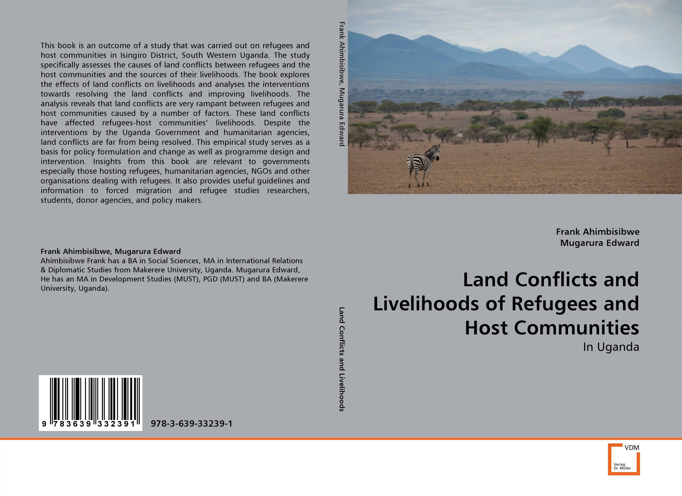 Land Conflicts and Livelihoods of Refugees and Host Communities land conflicts and livelihoods of refugees and host communities