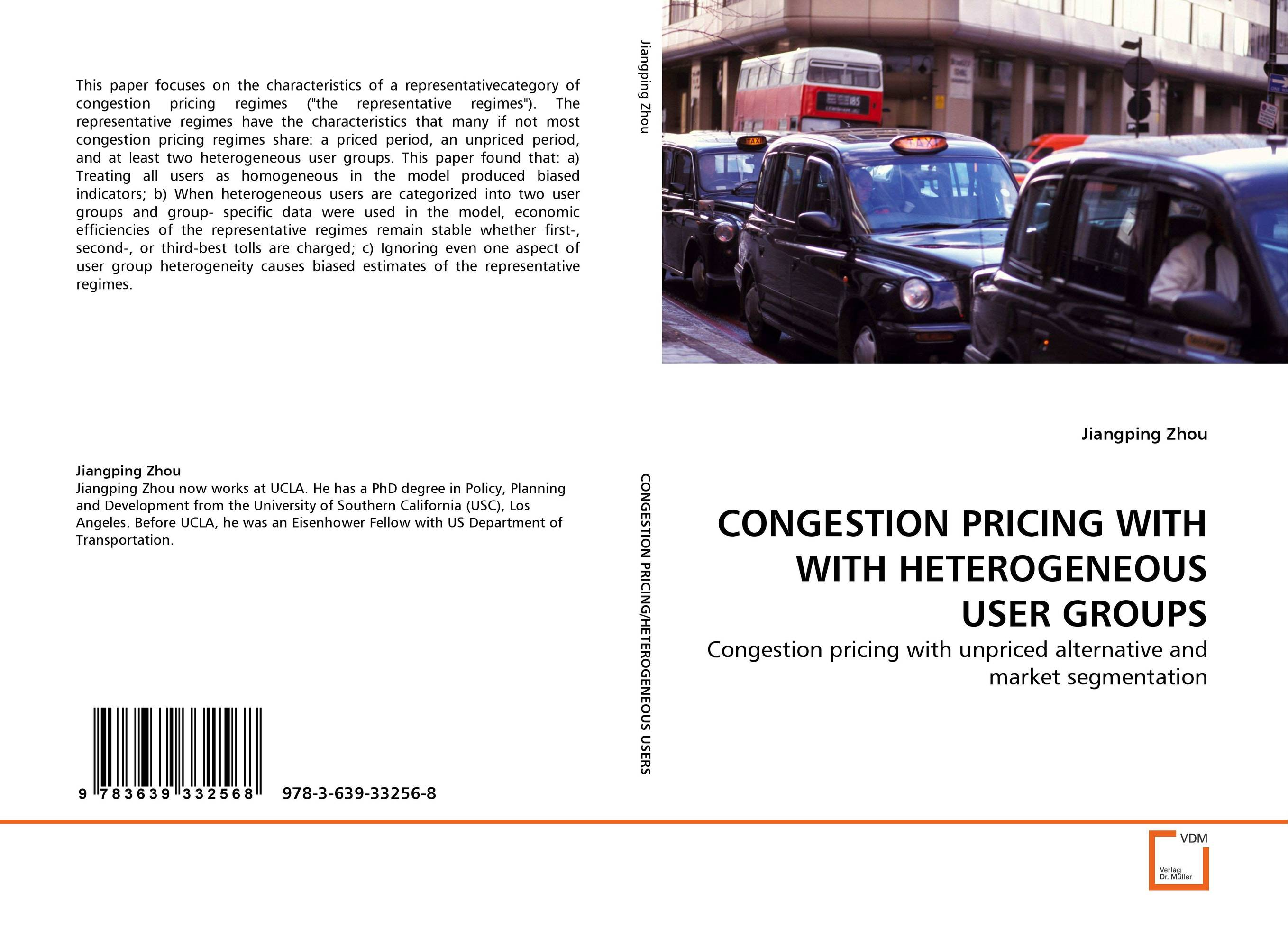 CONGESTION PRICING WITH WITH HETEROGENEOUS USER GROUPS