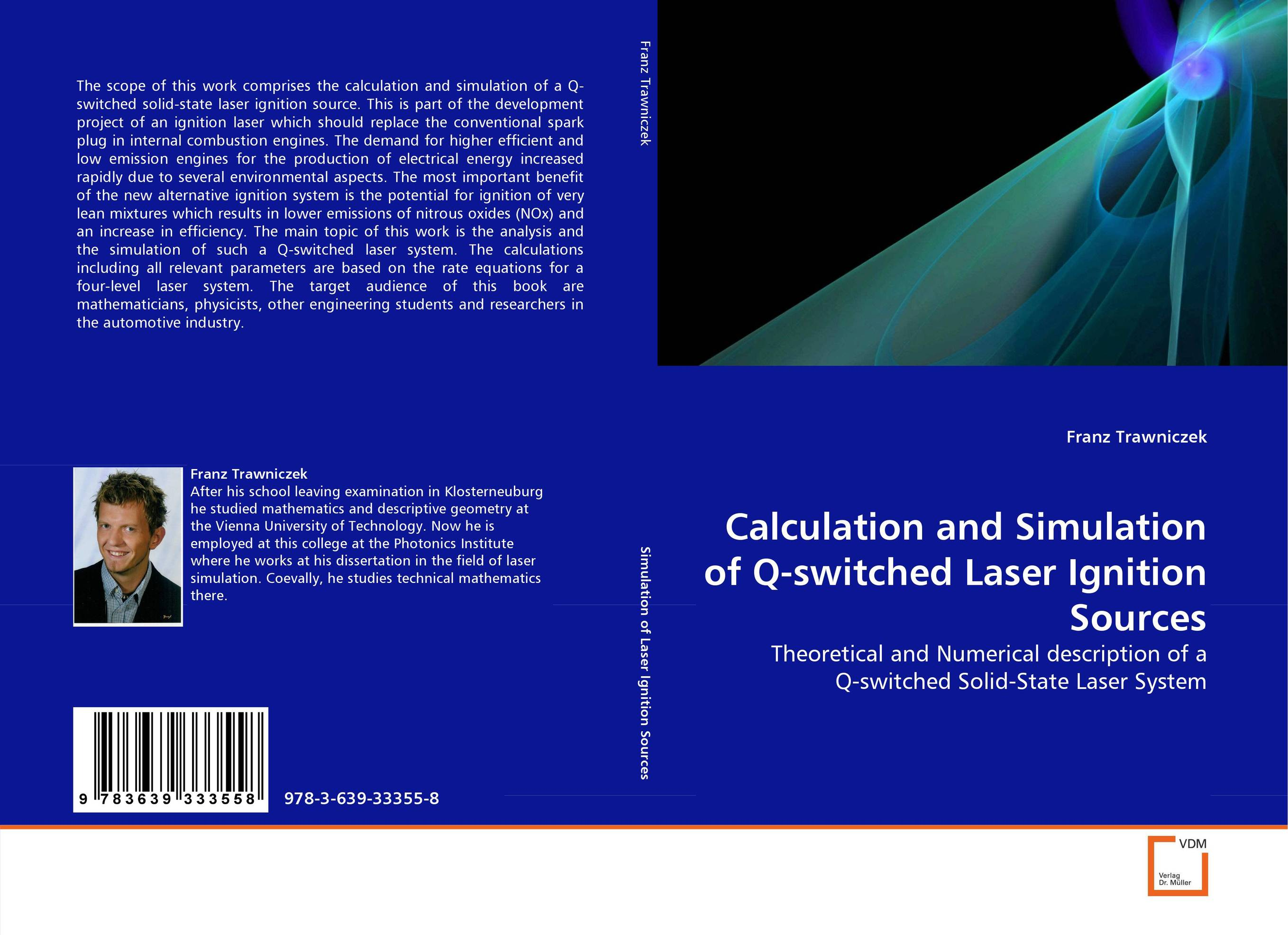 Calculation and Simulation of Q-switched Laser Ignition Sources