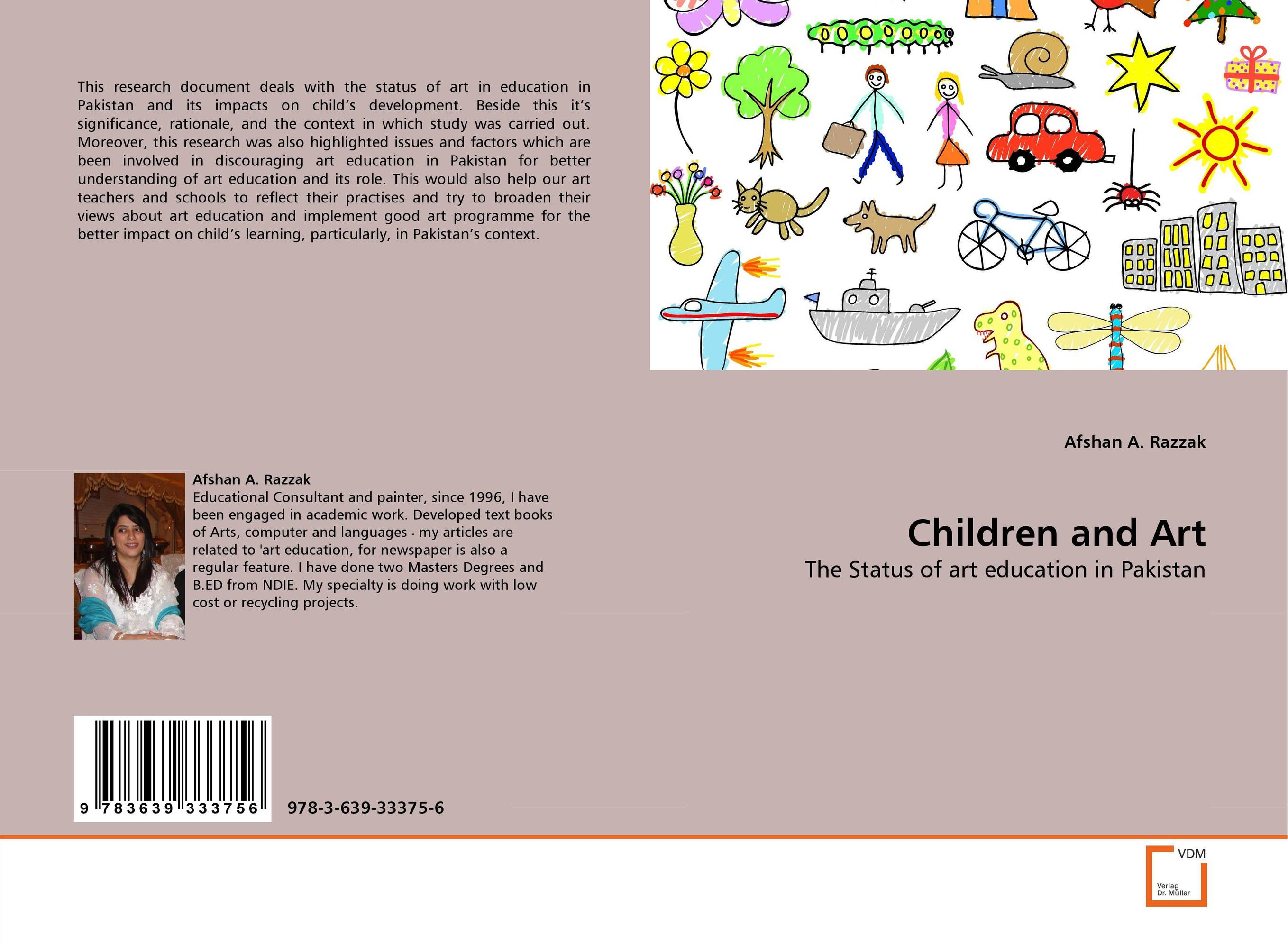 Children and Art distance education in pakistan