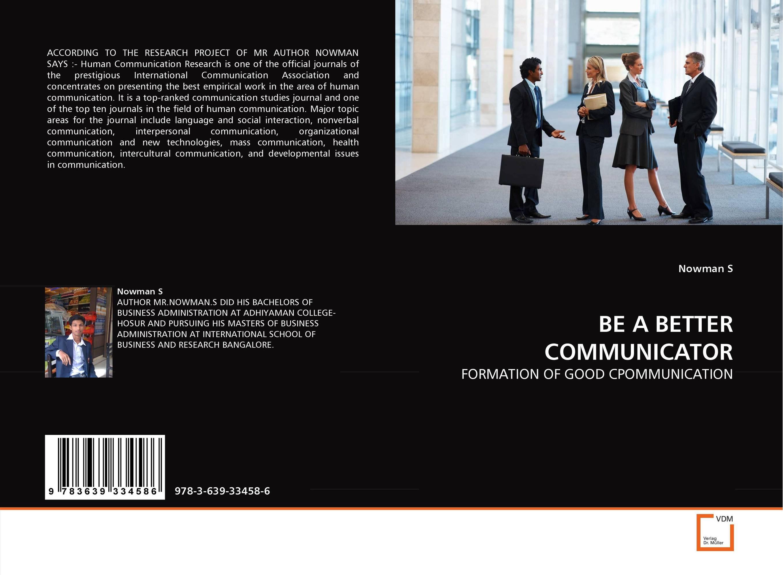 BE A BETTER COMMUNICATOR communication disorders
