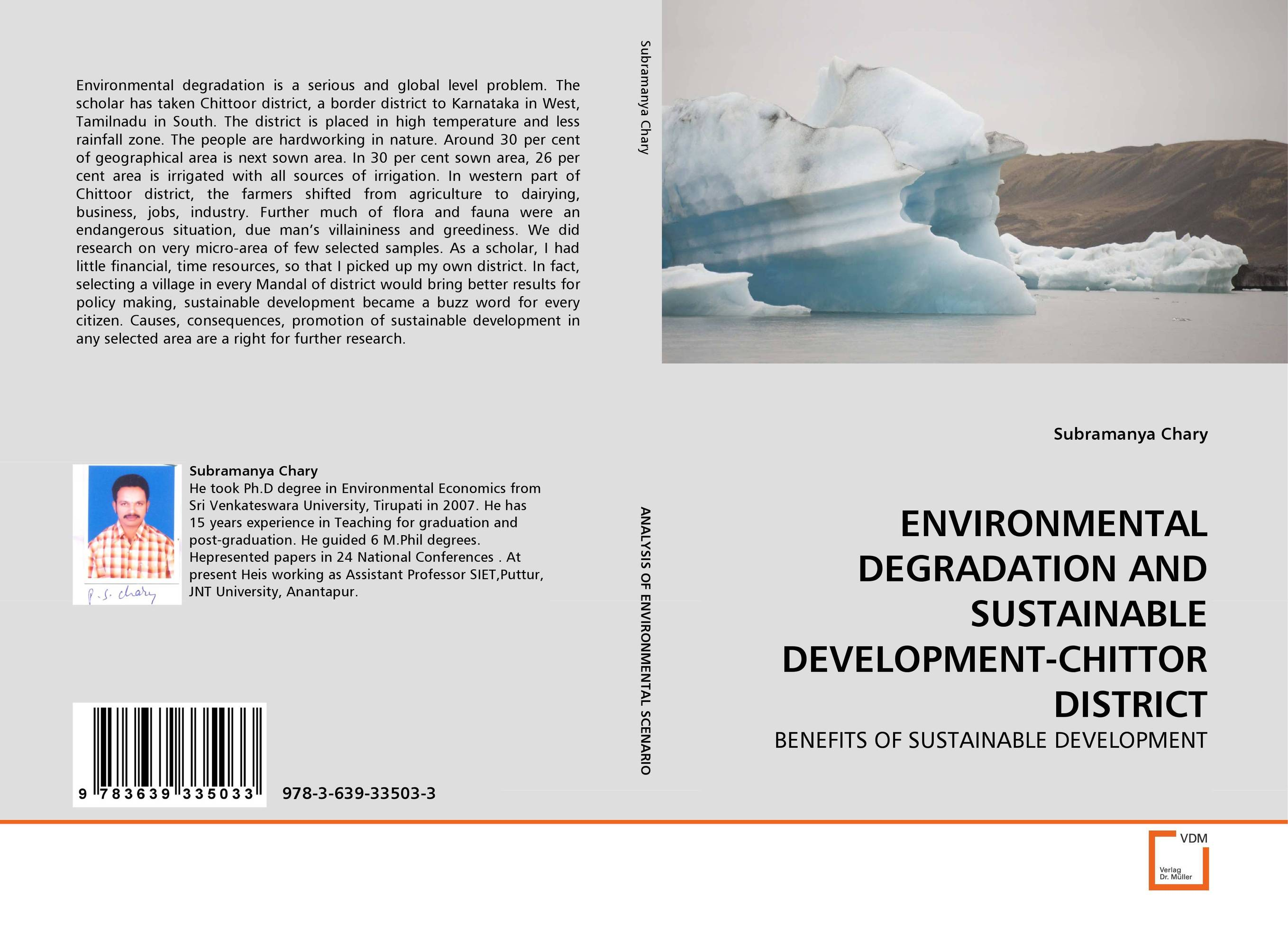 ENVIRONMENTAL DEGRADATION AND SUSTAINABLE DEVELOPMENT-CHITTOR DISTRICT environmental ethics and sustainable development