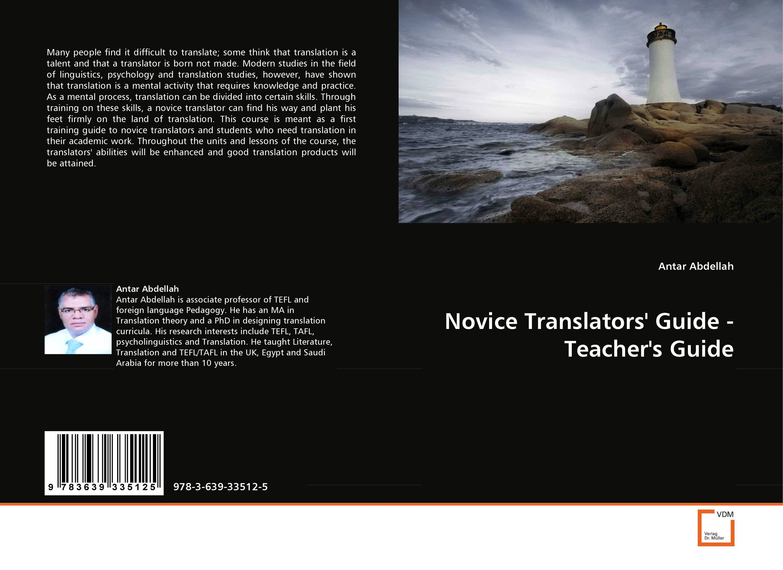 Novice Translators'' Guide - Teacher''s Guide arumugam madeswaran computational studies of anti inflammatory activity of some flavonoids