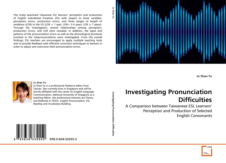 Investigating Pronunciation Difficulties english prepositional errors