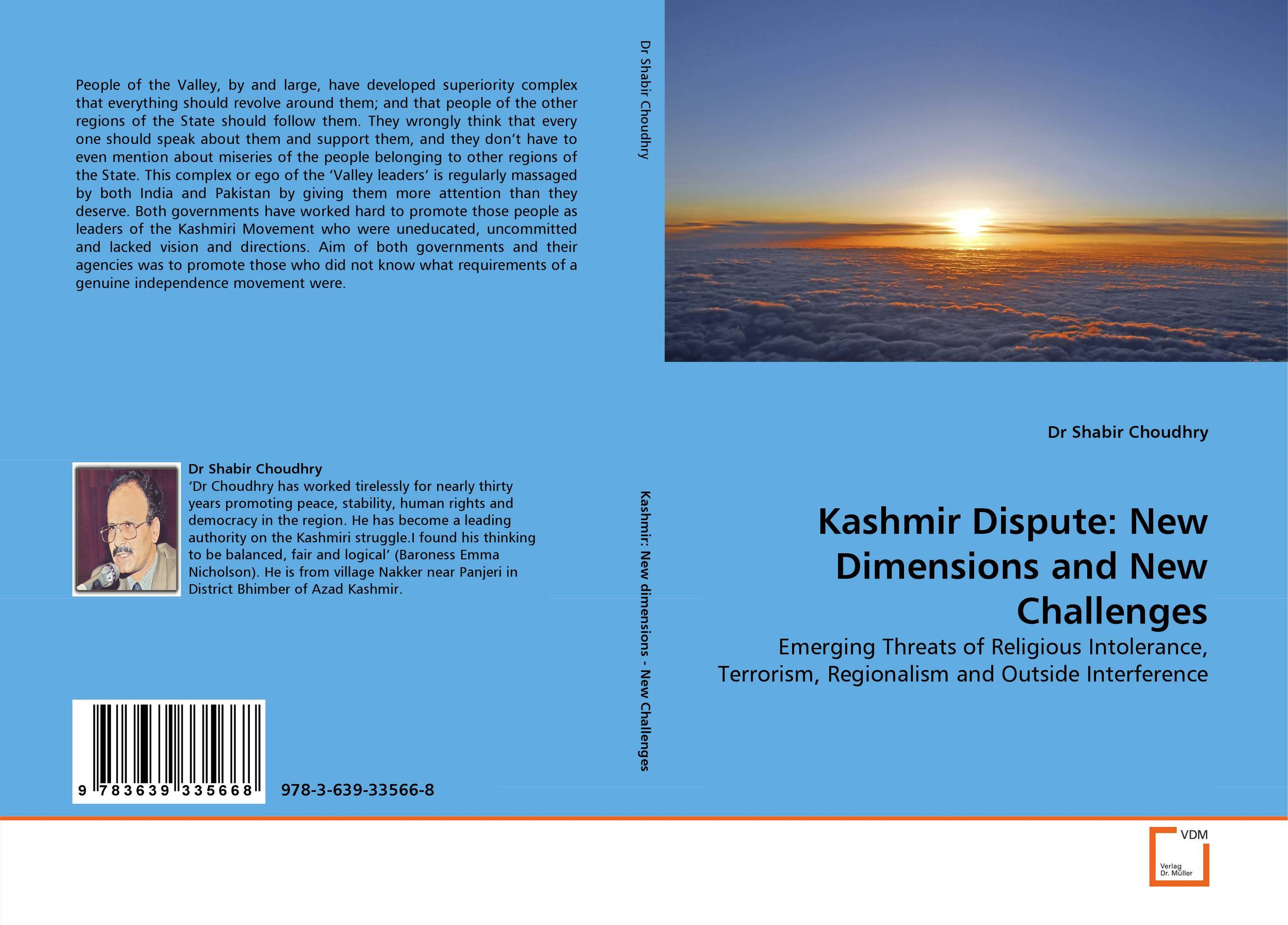 Kashmir Dispute: New Dimensions and New Challenges dimensions of state building